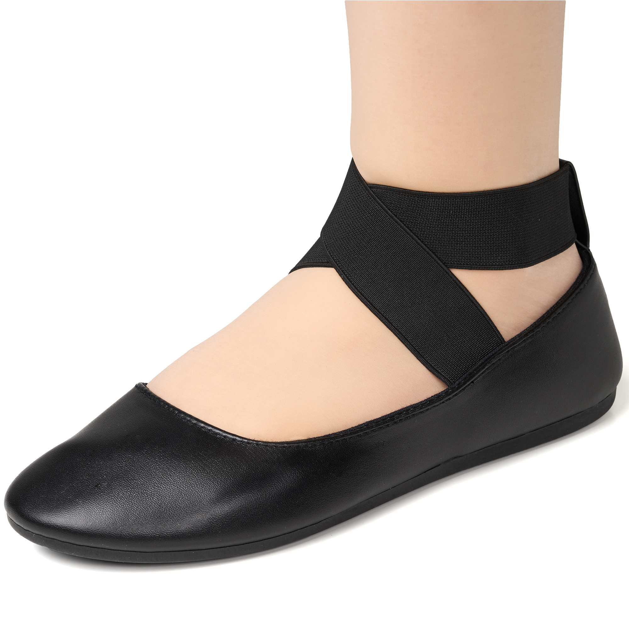 Alpine-Swiss-Peony-Womens-Ballet-Flats-Elastic-Ankle-Strap-Shoes-Slip-On-Loafers thumbnail 21