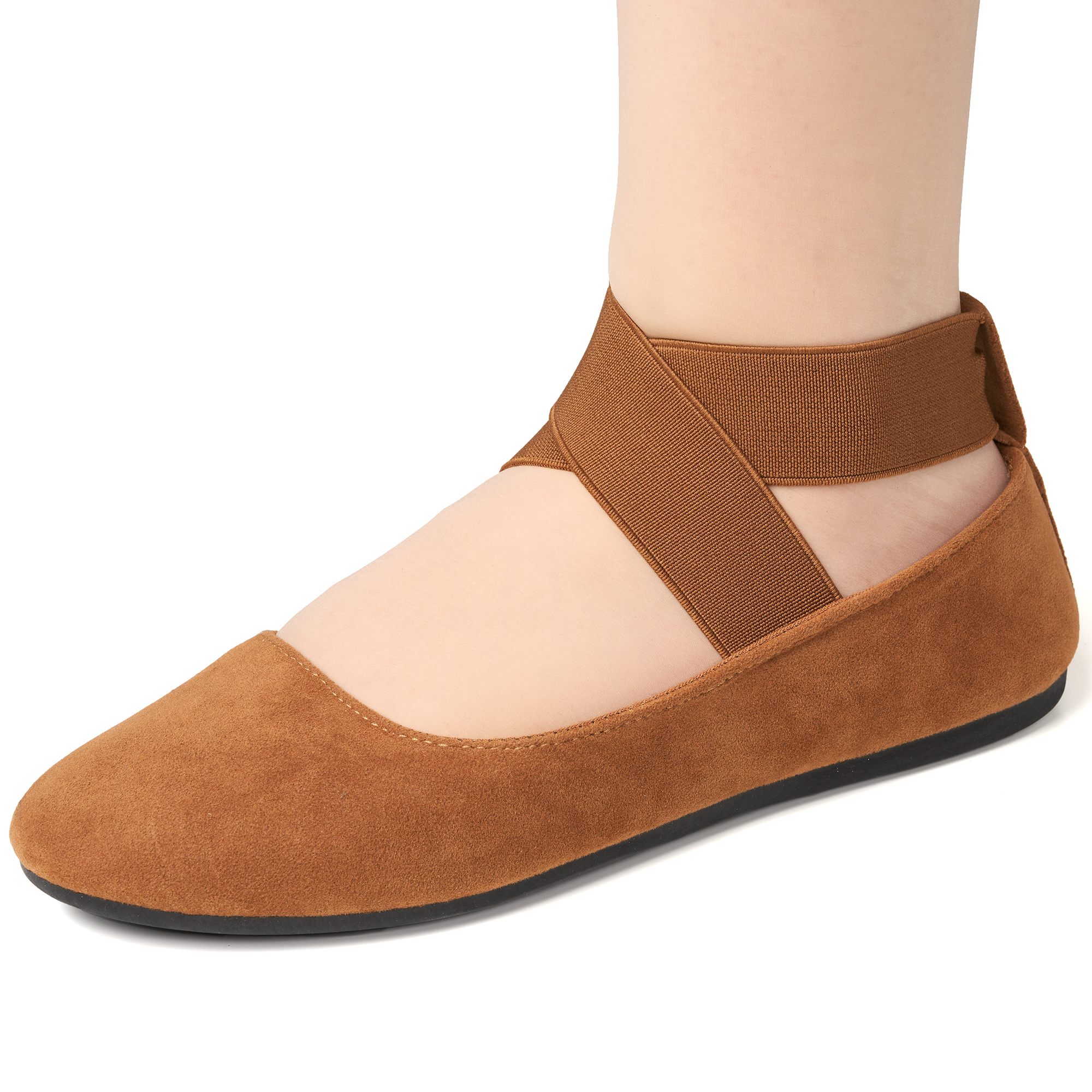Alpine-Swiss-Peony-Womens-Ballet-Flats-Elastic-Ankle-Strap-Shoes-Slip-On-Loafers thumbnail 57