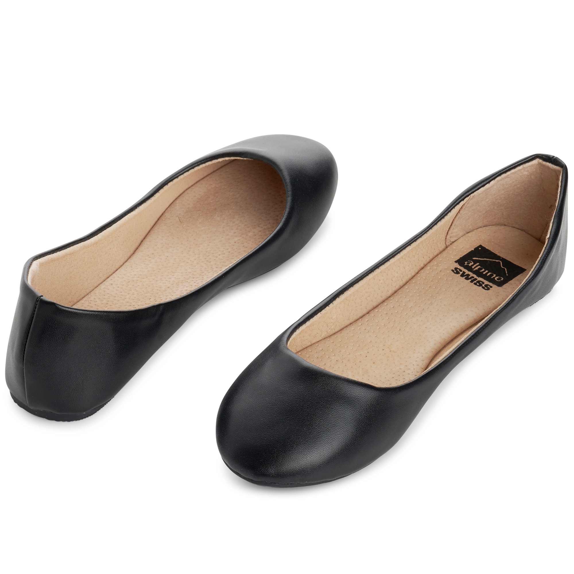 Alpine-Swiss-Pierina-Womens-Ballet-Flats-Leather-Lined-Classic-Slip-On-Shoes thumbnail 23