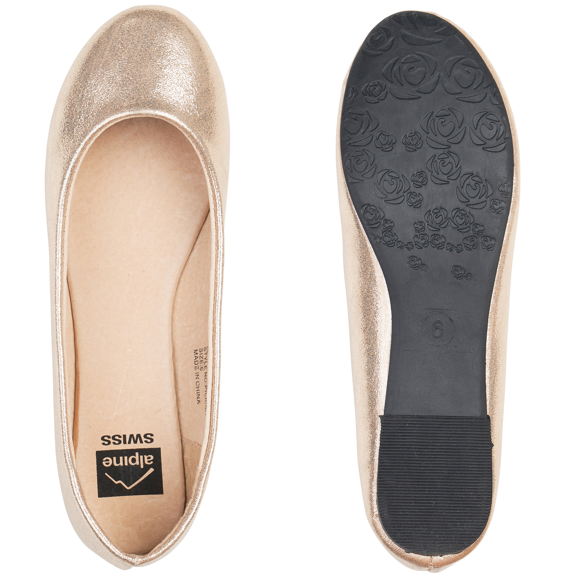 Alpine-Swiss-Pierina-Womens-Ballet-Flats-Leather-Lined-Classic-Slip-On-Shoes thumbnail 50