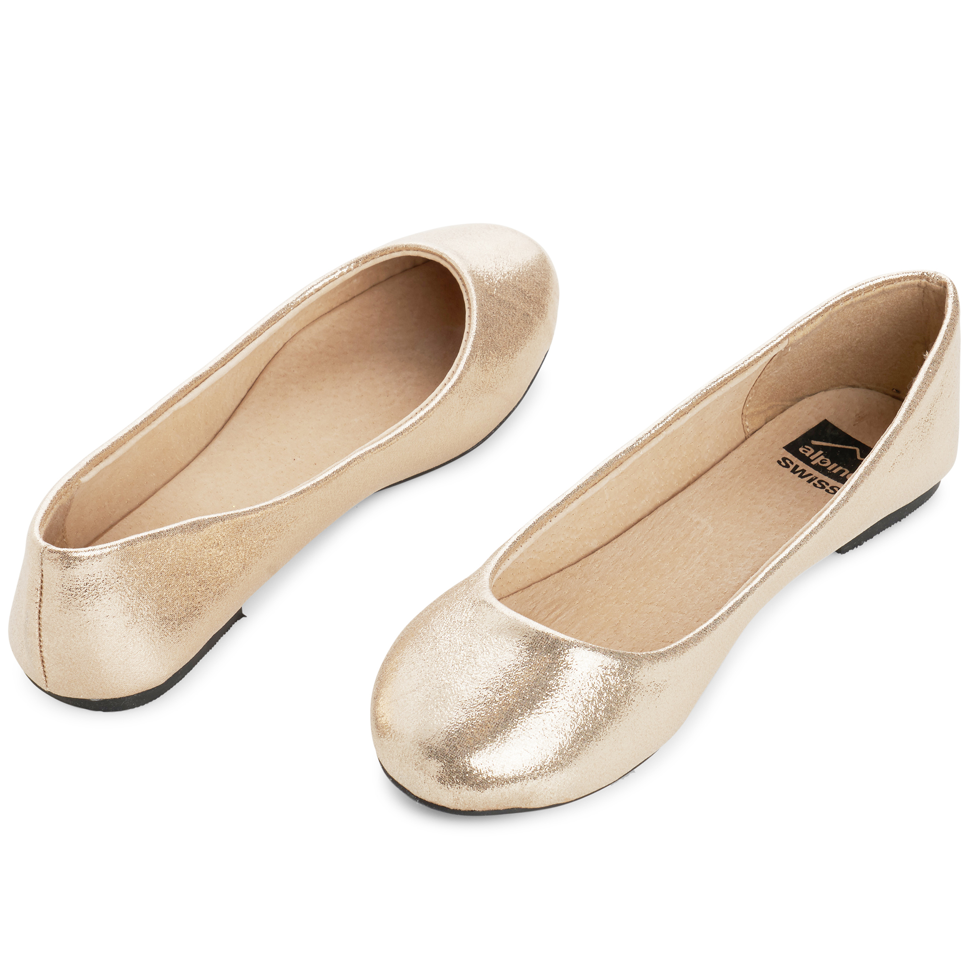 Alpine-Swiss-Pierina-Womens-Ballet-Flats-Leather-Lined-Classic-Slip-On-Shoes thumbnail 51