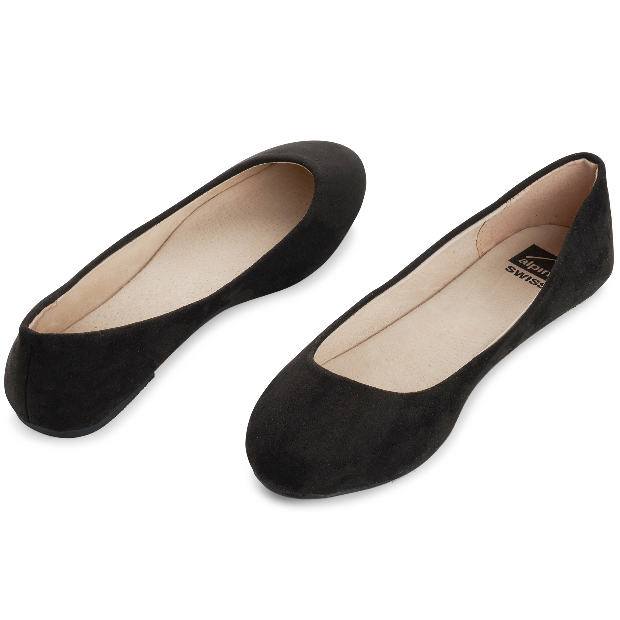 Alpine-Swiss-Pierina-Womens-Ballet-Flats-Leather-Lined-Classic-Slip-On-Shoes thumbnail 30