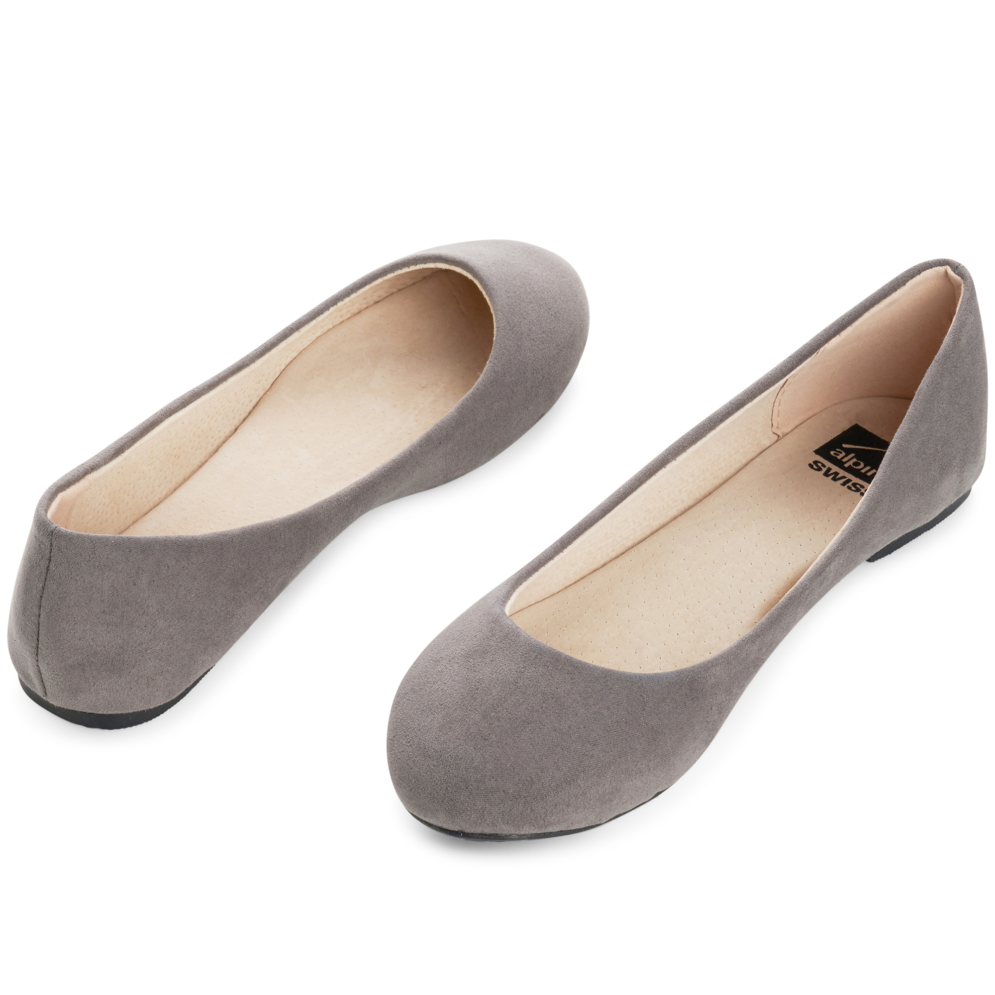Alpine-Swiss-Pierina-Womens-Ballet-Flats-Leather-Lined-Classic-Slip-On-Shoes thumbnail 65