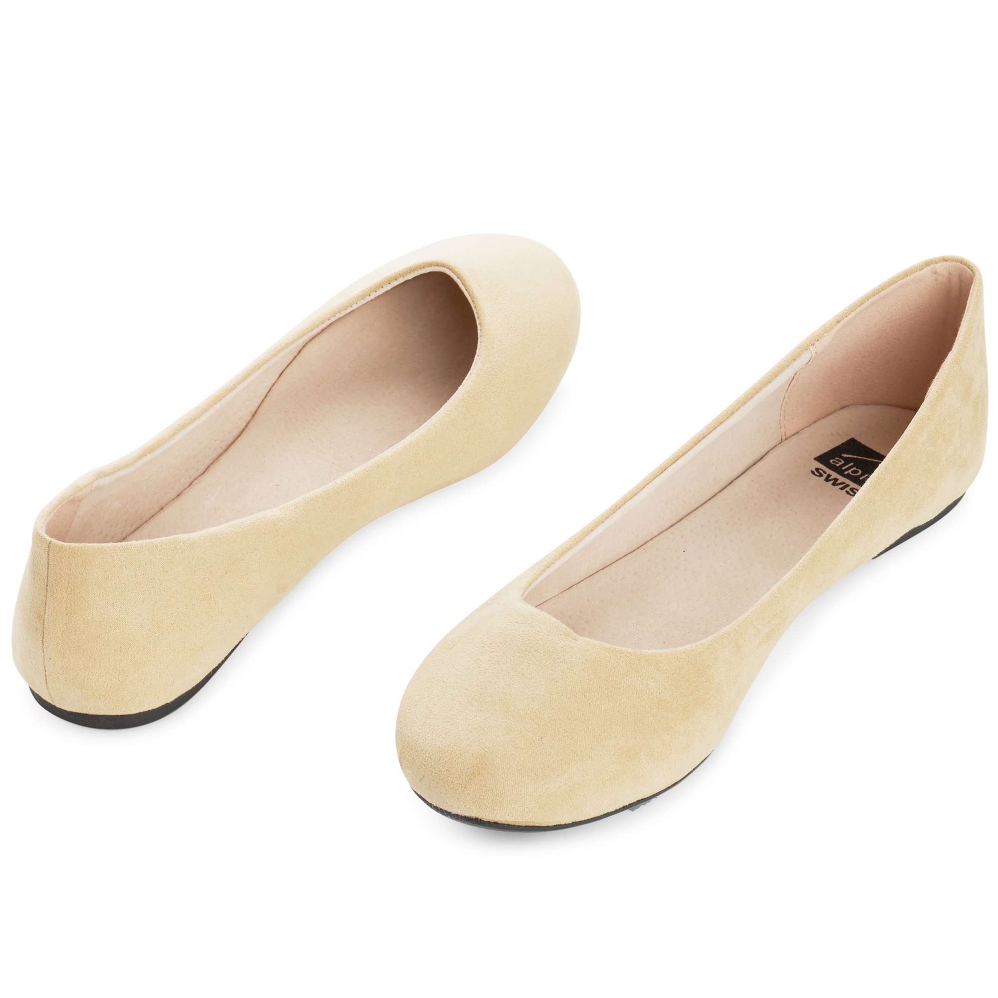 Alpine-Swiss-Pierina-Womens-Ballet-Flats-Leather-Lined-Classic-Slip-On-Shoes thumbnail 15