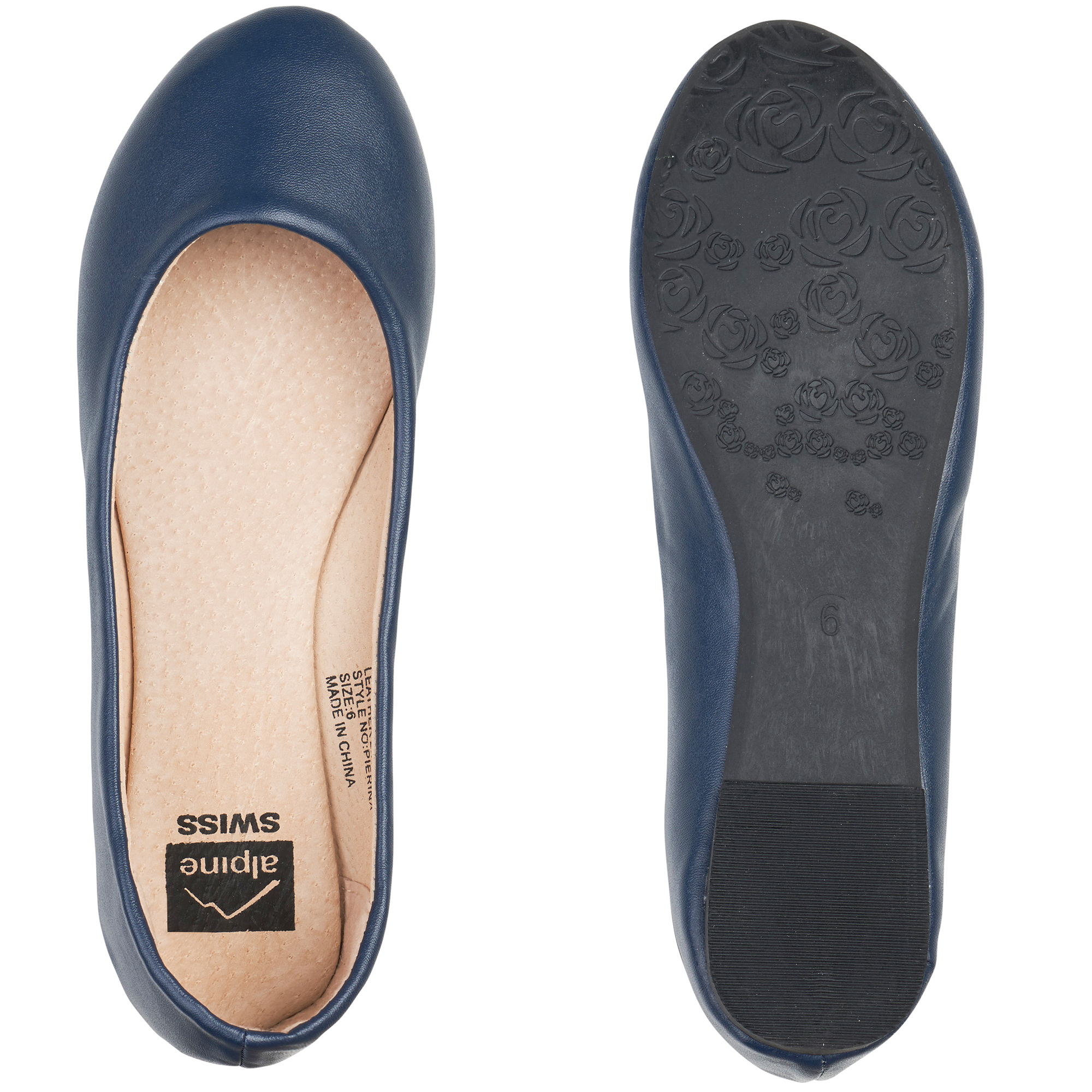 Alpine-Swiss-Pierina-Womens-Ballet-Flats-Leather-Lined-Classic-Slip-On-Shoes thumbnail 76