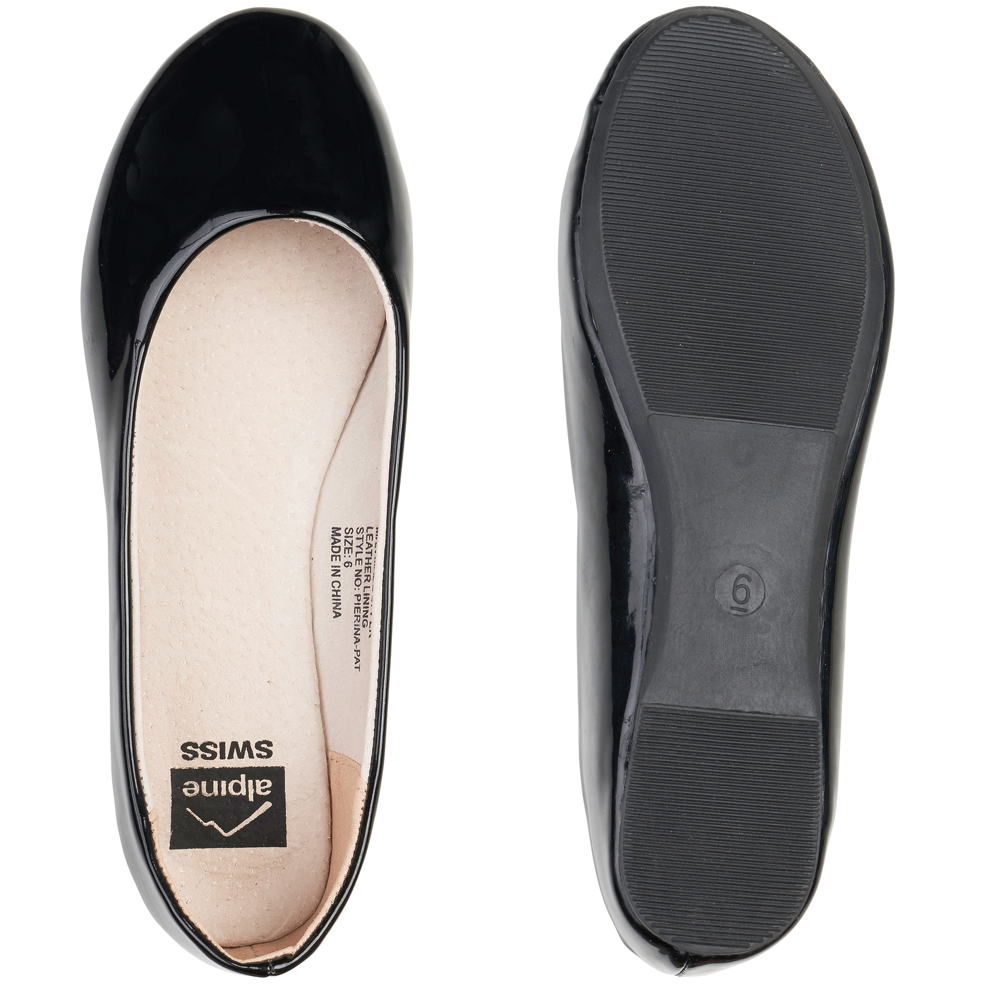 Alpine-Swiss-Pierina-Womens-Ballet-Flats-Leather-Lined-Classic-Slip-On-Shoes thumbnail 36