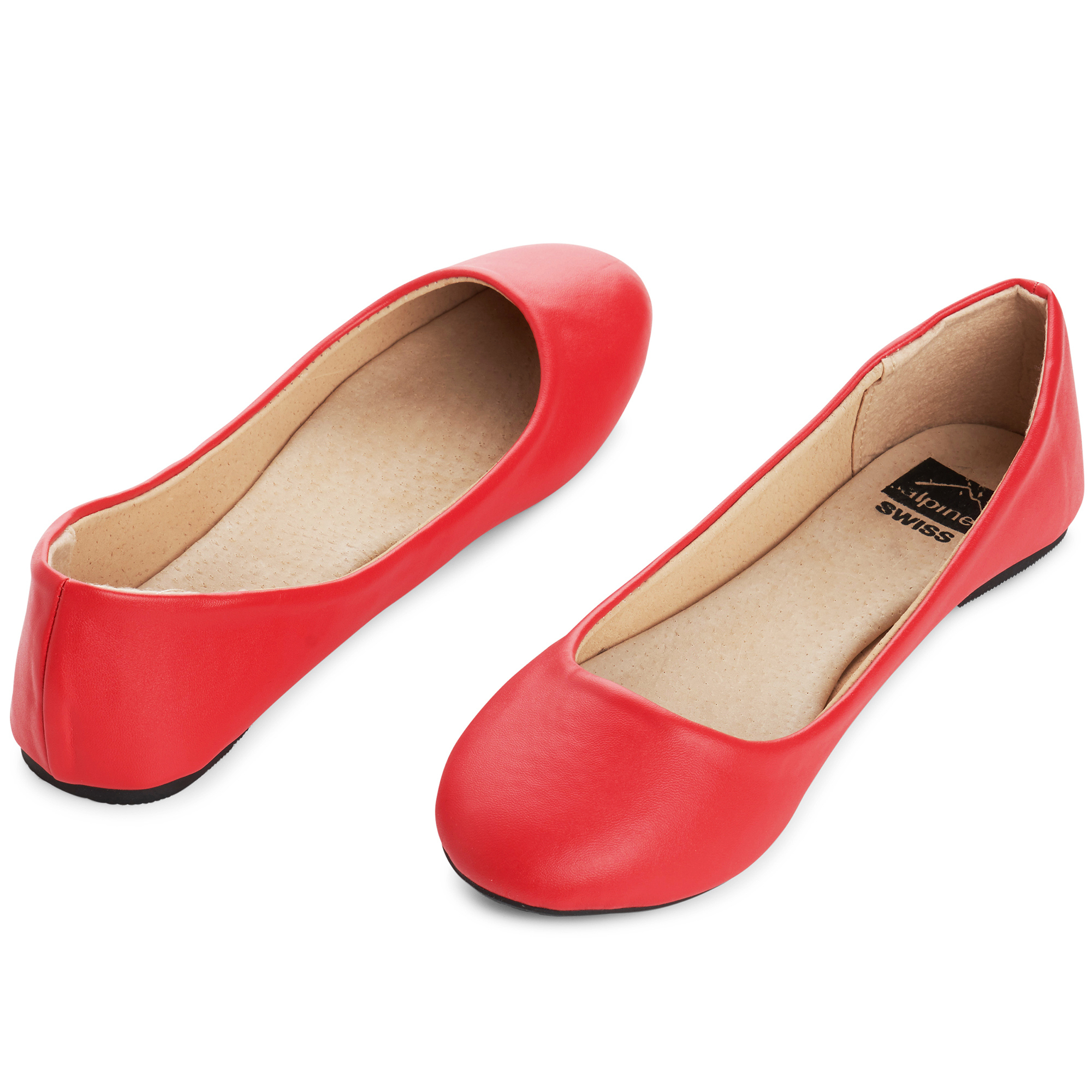 Alpine-Swiss-Pierina-Womens-Ballet-Flats-Leather-Lined-Classic-Slip-On-Shoes thumbnail 84