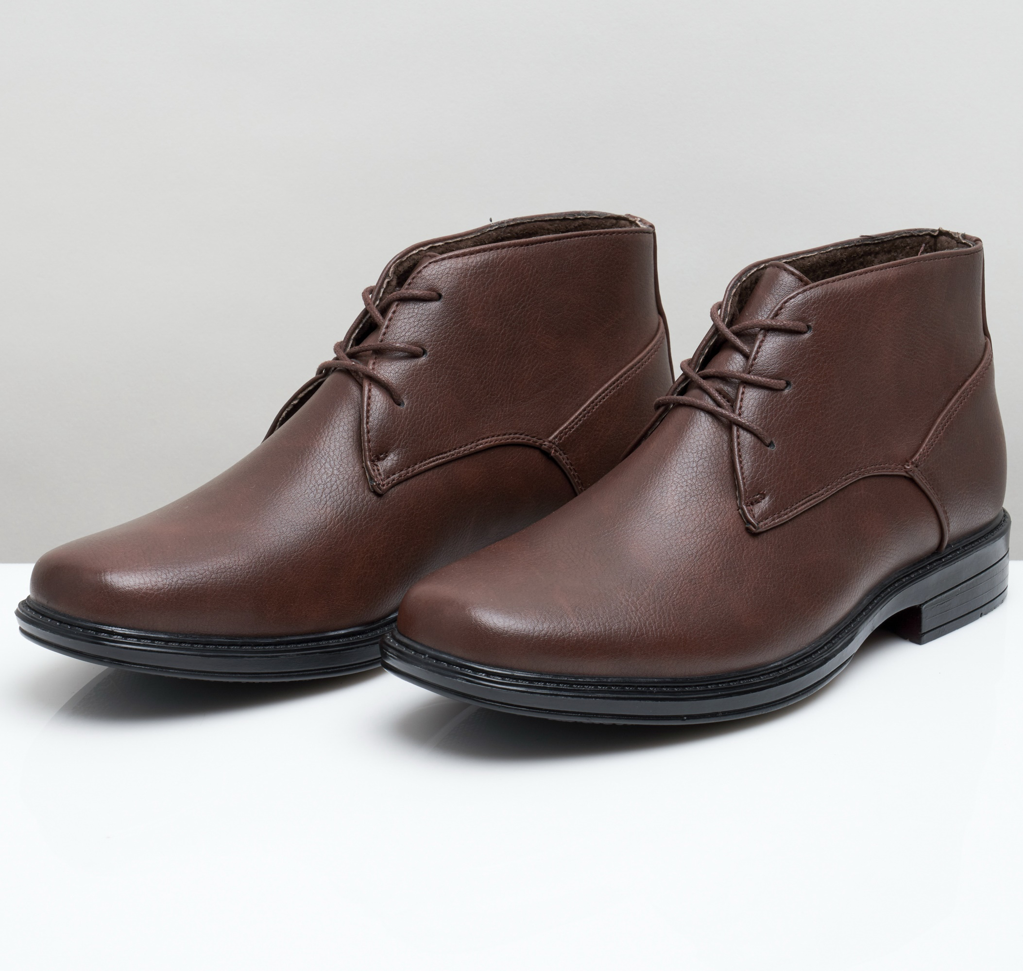 Alpine-Swiss-Mens-Ankle-Boots-Dressy-Casual-Leather-Lined-Dress-Shoes-Lace-up-NW miniature 24