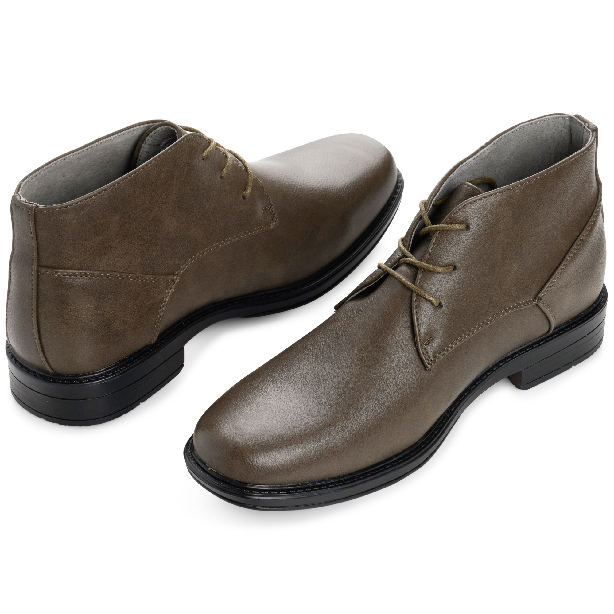 Alpine-Swiss-Mens-Ankle-Boots-Dressy-Casual-Leather-Lined-Dress-Shoes-Lace-up-NW miniature 29