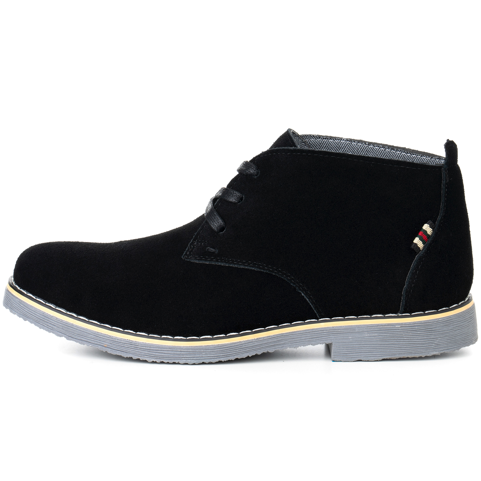 Alpine-Swiss-Beck-Mens-Suede-Chukka-Desert-Boots-Lace-Up-Shoes-Crepe-Sole-Oxford miniature 13