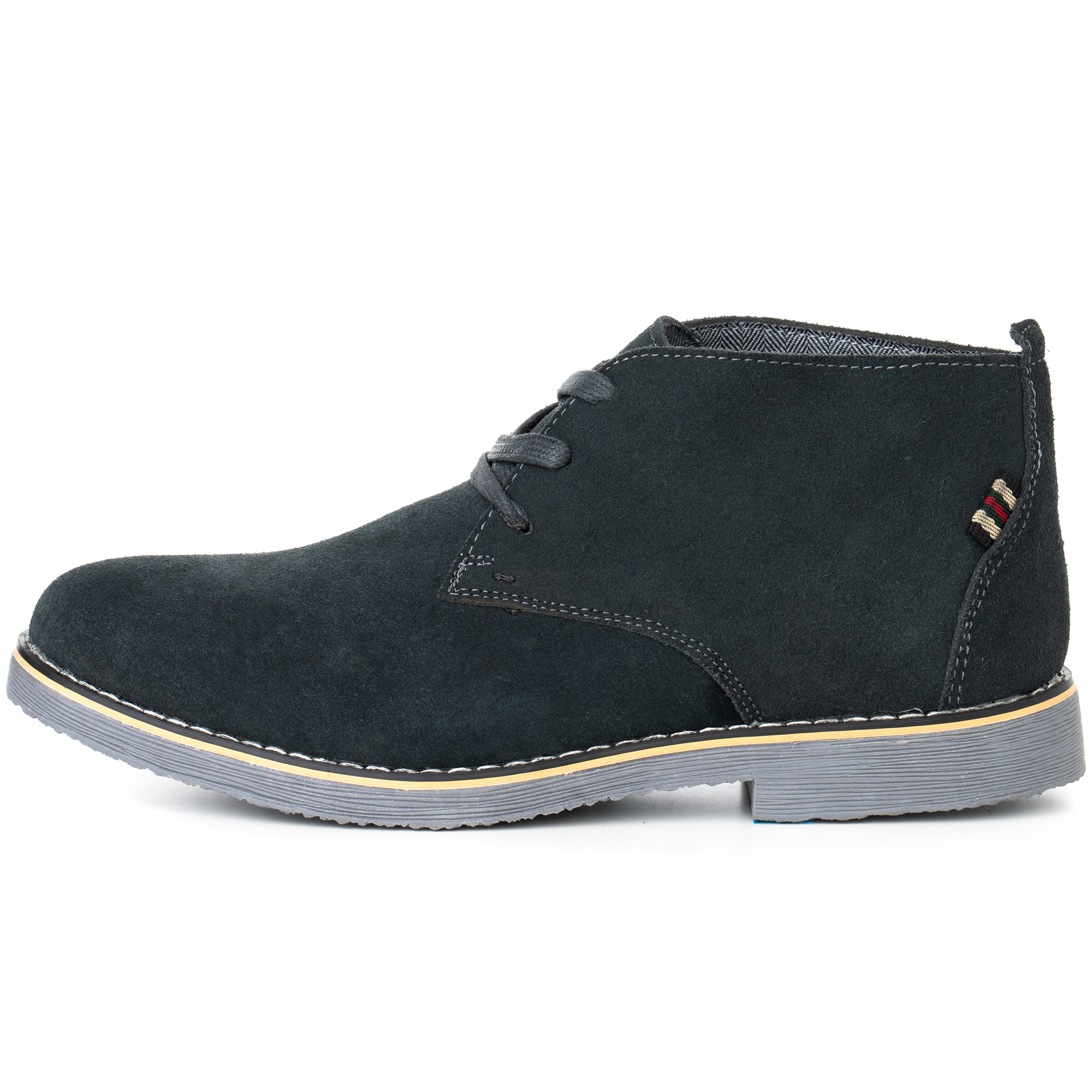 Alpine-Swiss-Beck-Mens-Suede-Chukka-Desert-Boots-Lace-Up-Shoes-Crepe-Sole-Oxford miniature 25
