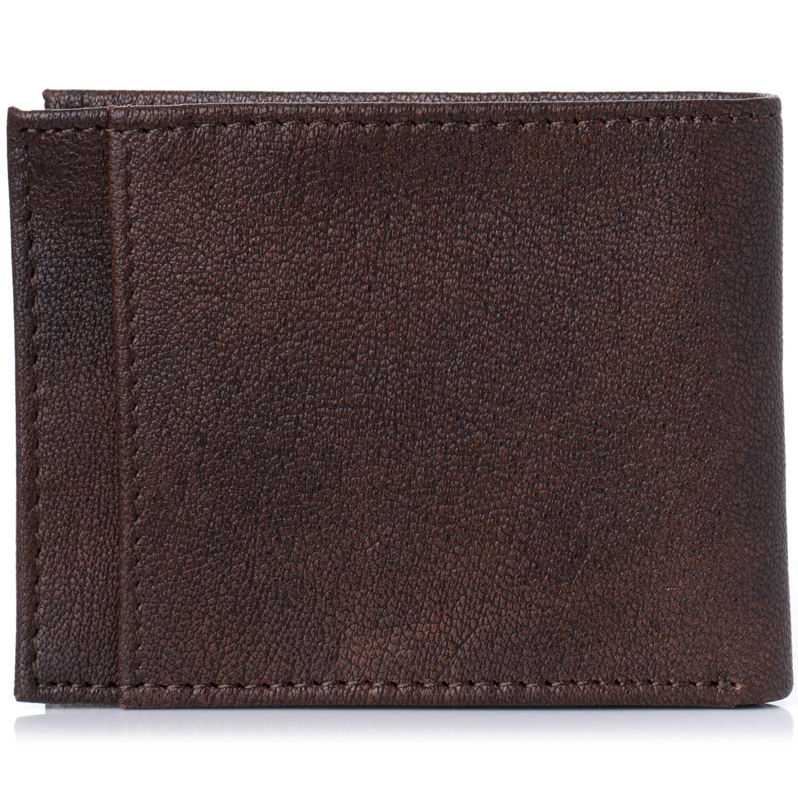 Alpine-Swiss-Mens-Thin-Bifold-Wallet-Top-Grain-Leather-EZ-Access-Outer-Card-Slot thumbnail 18