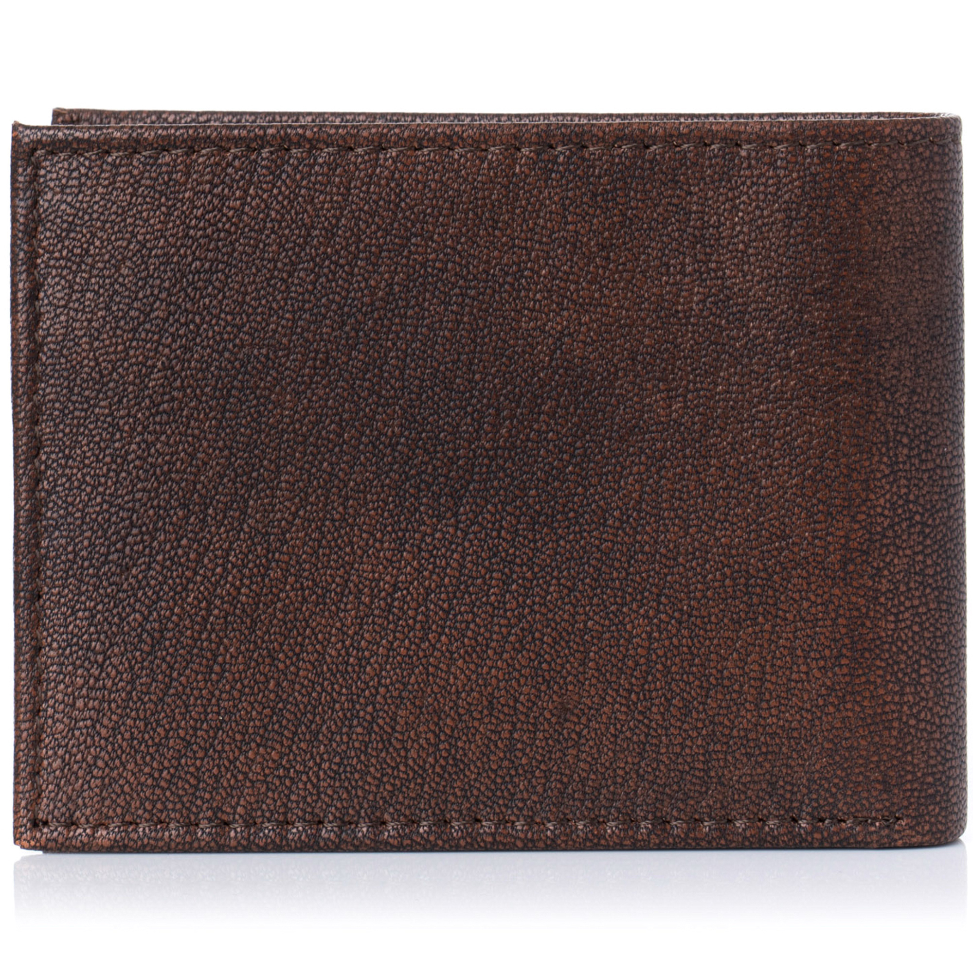 Alpine-Swiss-Mens-Wallet-Genuine-Leather-Removable-ID-Card-Case-Bifold-Passcase thumbnail 17