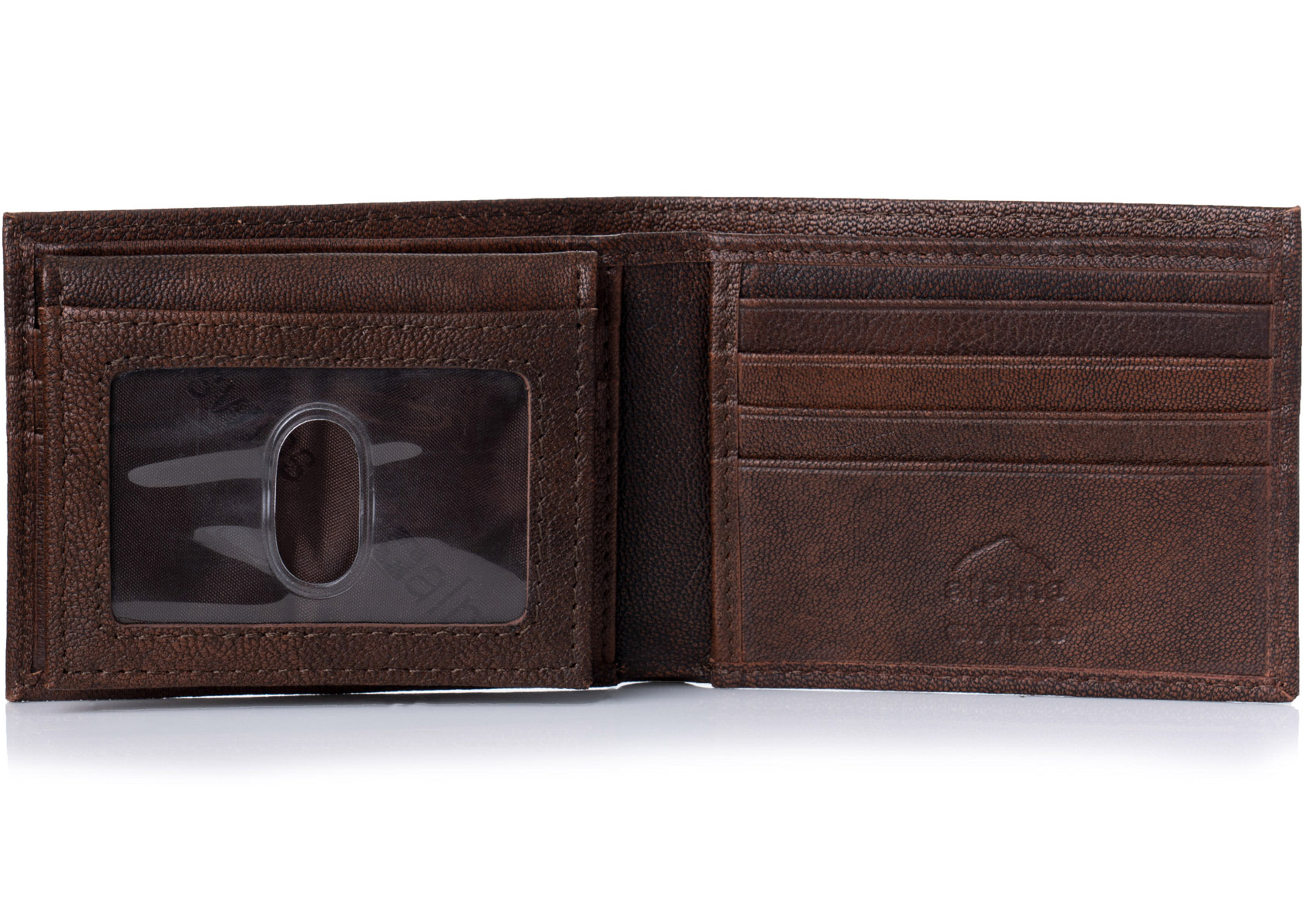 Alpine-Swiss-Mens-Wallet-Genuine-Leather-Removable-ID-Card-Case-Bifold-Passcase thumbnail 20