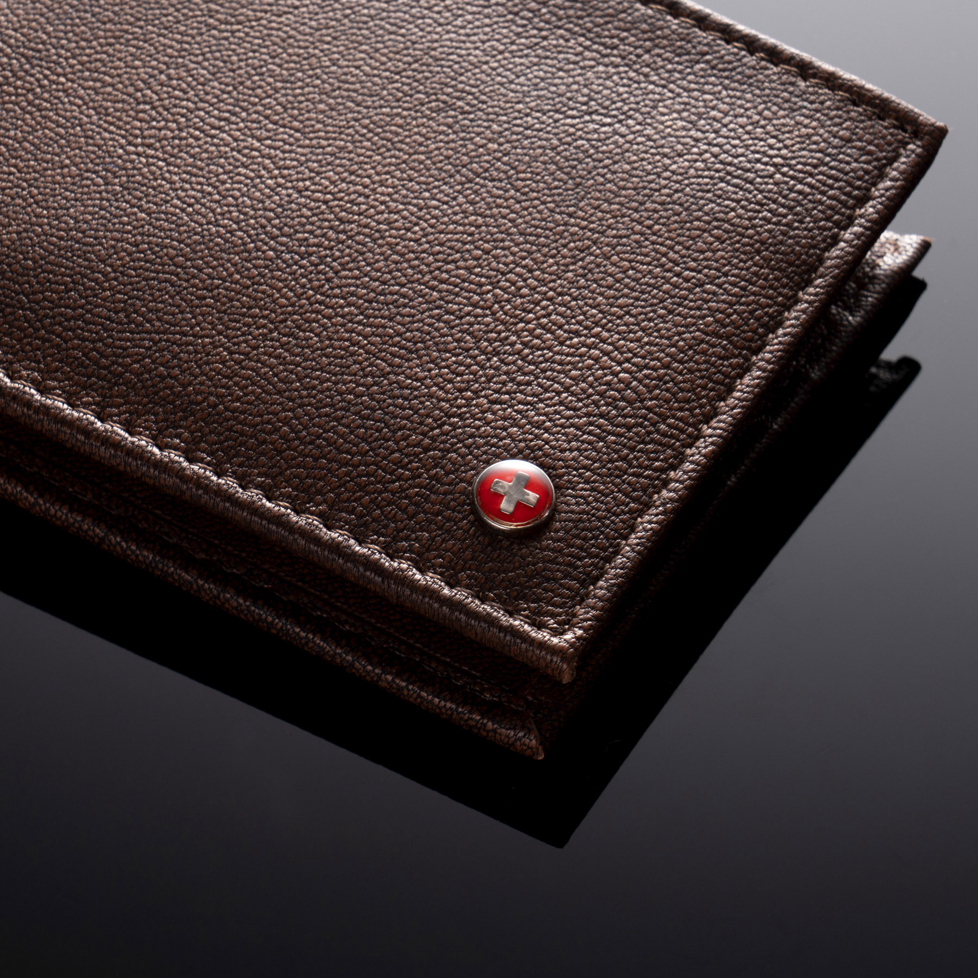 Alpine-Swiss-Mens-Wallet-Genuine-Leather-Removable-ID-Card-Case-Bifold-Passcase thumbnail 19