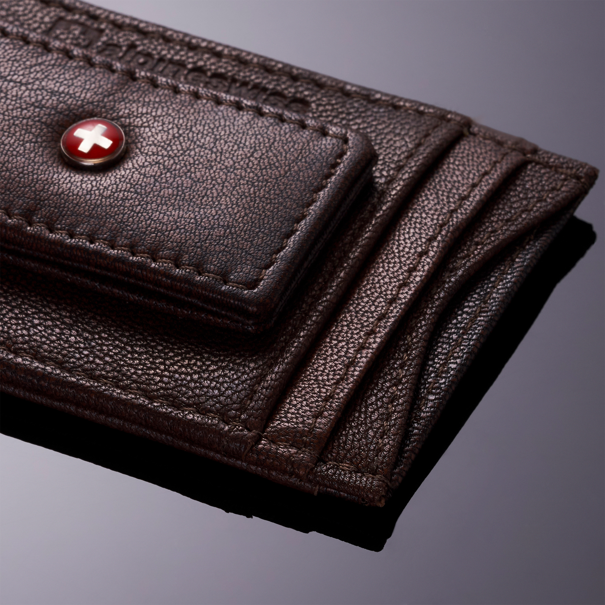 AlpineSwiss-Mens-Leather-Money-Clip-Magnet-Front-Pocket-Wallet-Slim-ID-Card-Case thumbnail 17