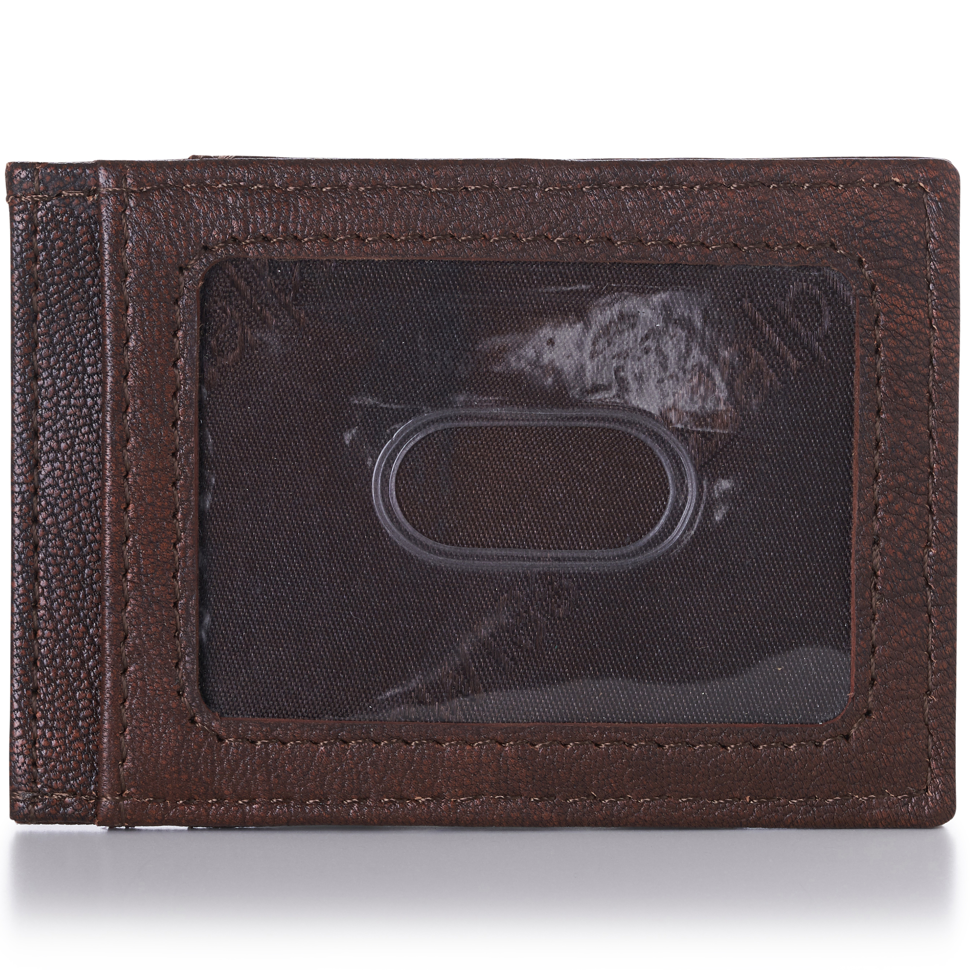 AlpineSwiss-Mens-Leather-Money-Clip-Magnet-Front-Pocket-Wallet-Slim-ID-Card-Case thumbnail 18