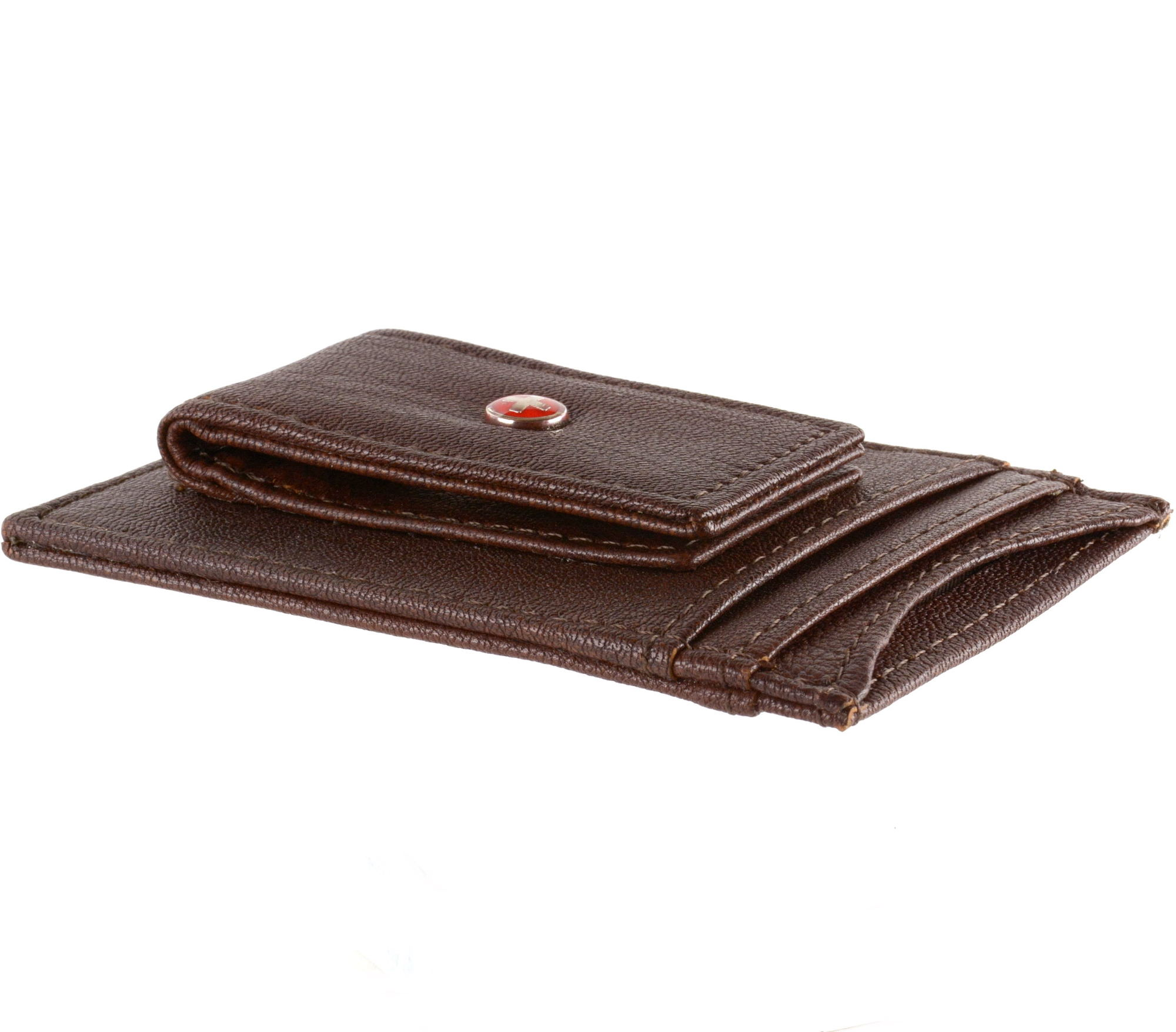 AlpineSwiss-Mens-Leather-Money-Clip-Magnet-Front-Pocket-Wallet-Slim-ID-Card-Case thumbnail 15