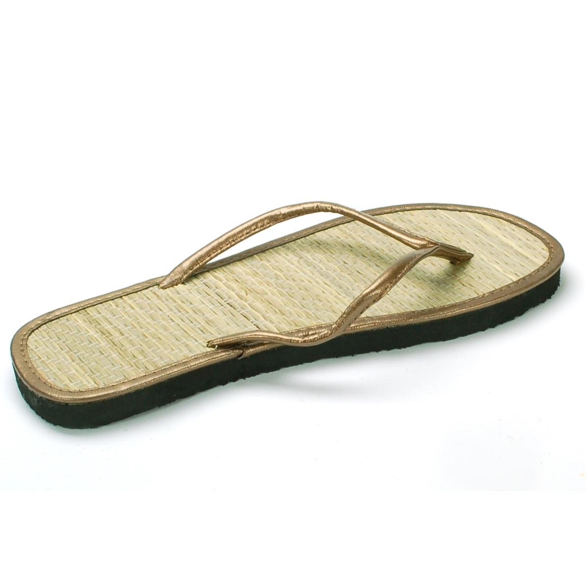 dfcb60811893 Womens Bamboo Sandal Flip Flops Light Flats Beach Summer Shoe ...