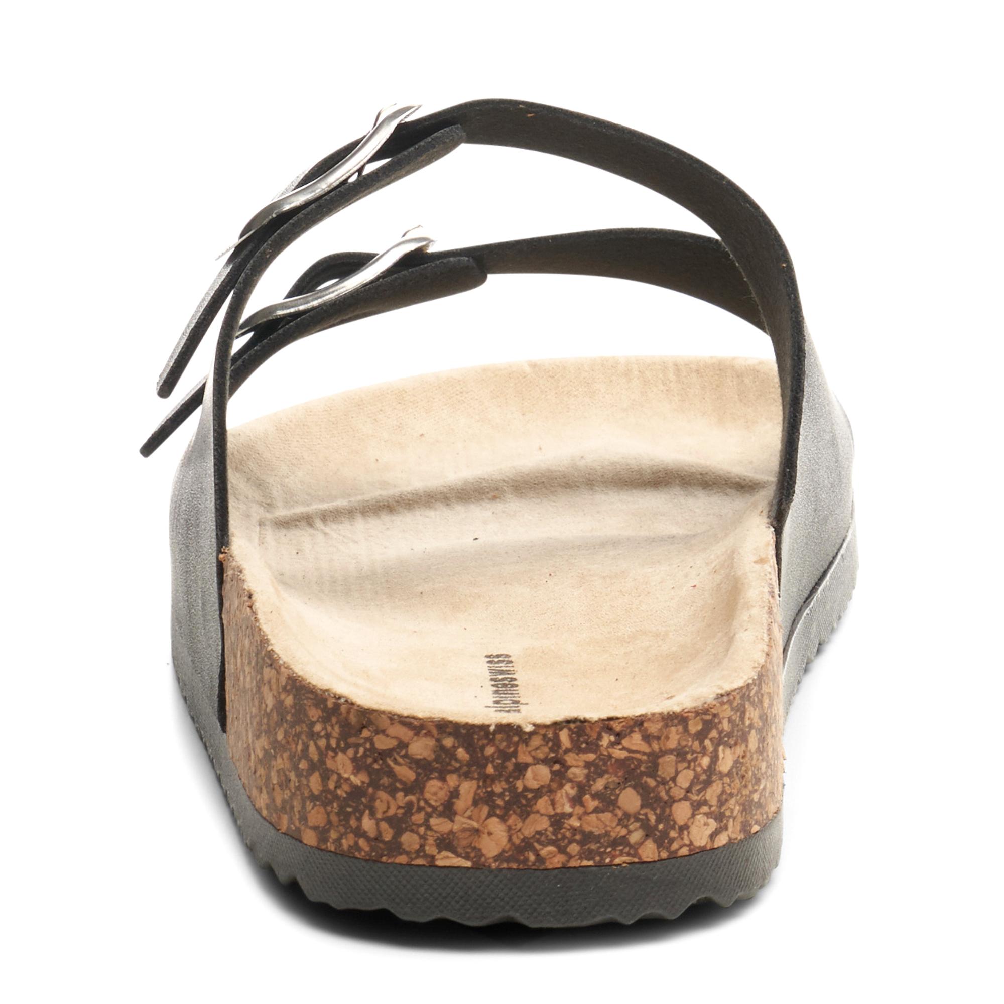 Alpine-Swiss-Womens-Double-Strap-Slide-Sandals-EVA-Sole-Flat-Comfort-Shoes thumbnail 16