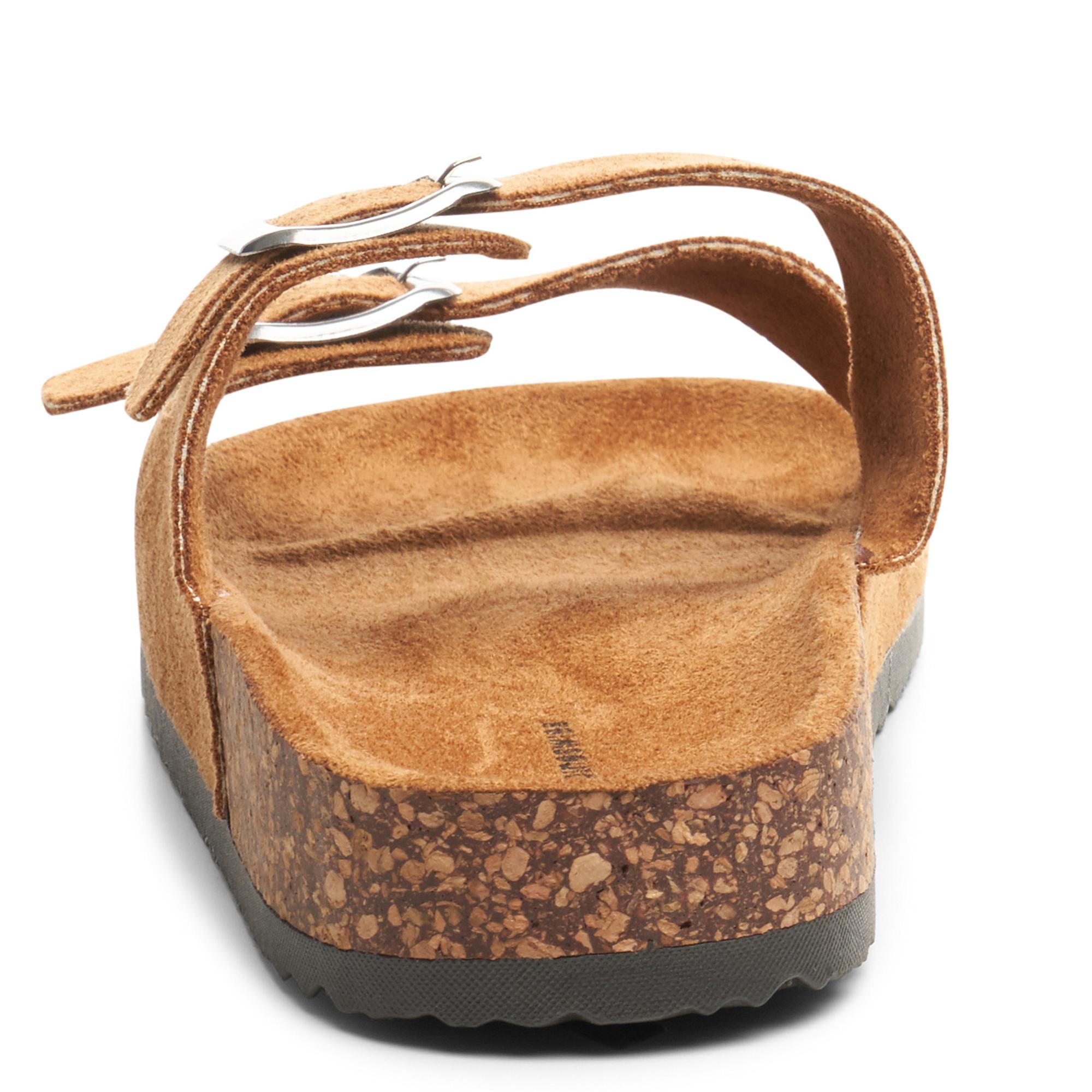 Alpine-Swiss-Womens-Double-Strap-Slide-Sandals-EVA-Sole-Flat-Comfort-Shoes thumbnail 22