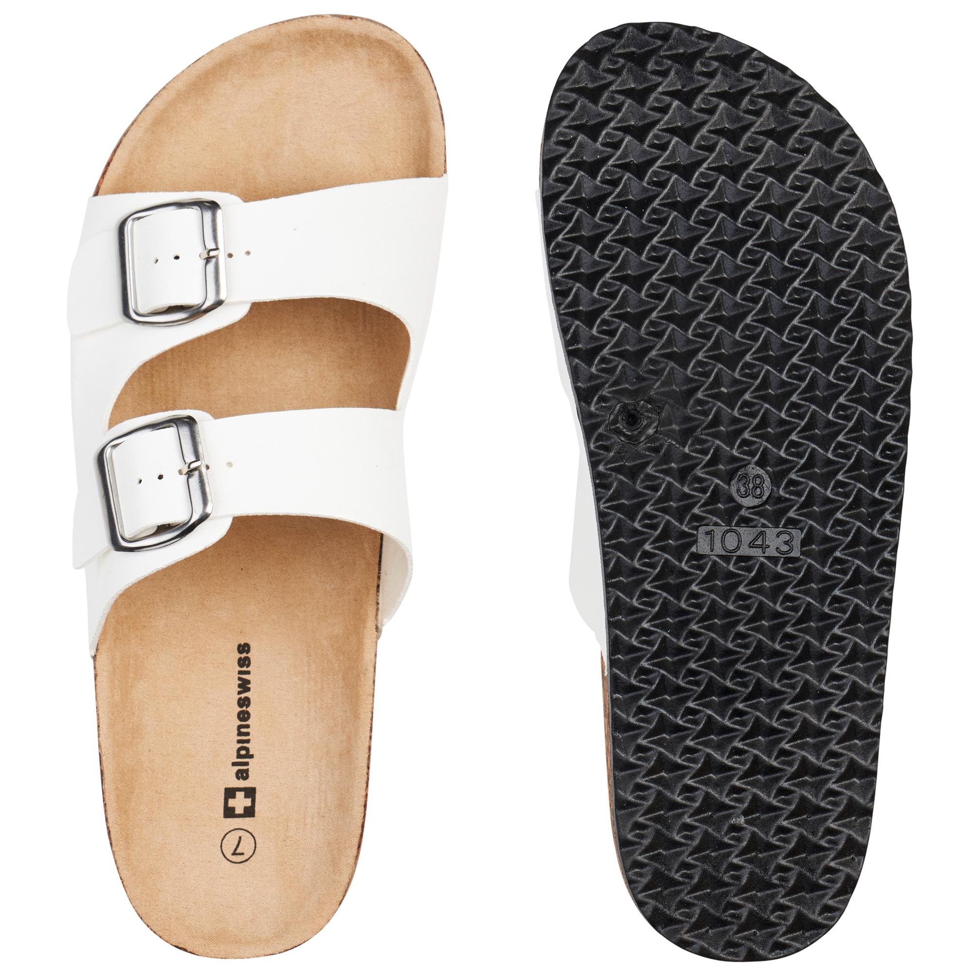 Alpine-Swiss-Womens-Double-Strap-Slide-Sandals-EVA-Sole-Flat-Comfort-Shoes thumbnail 26