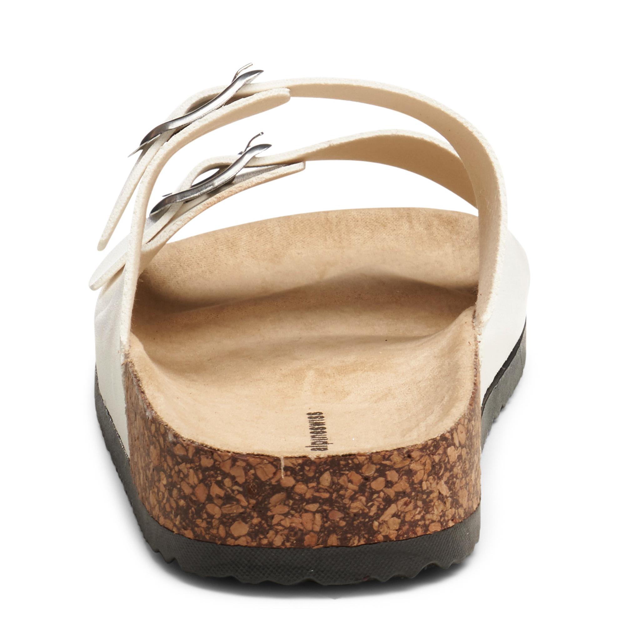 Alpine-Swiss-Womens-Double-Strap-Slide-Sandals-EVA-Sole-Flat-Comfort-Shoes thumbnail 28