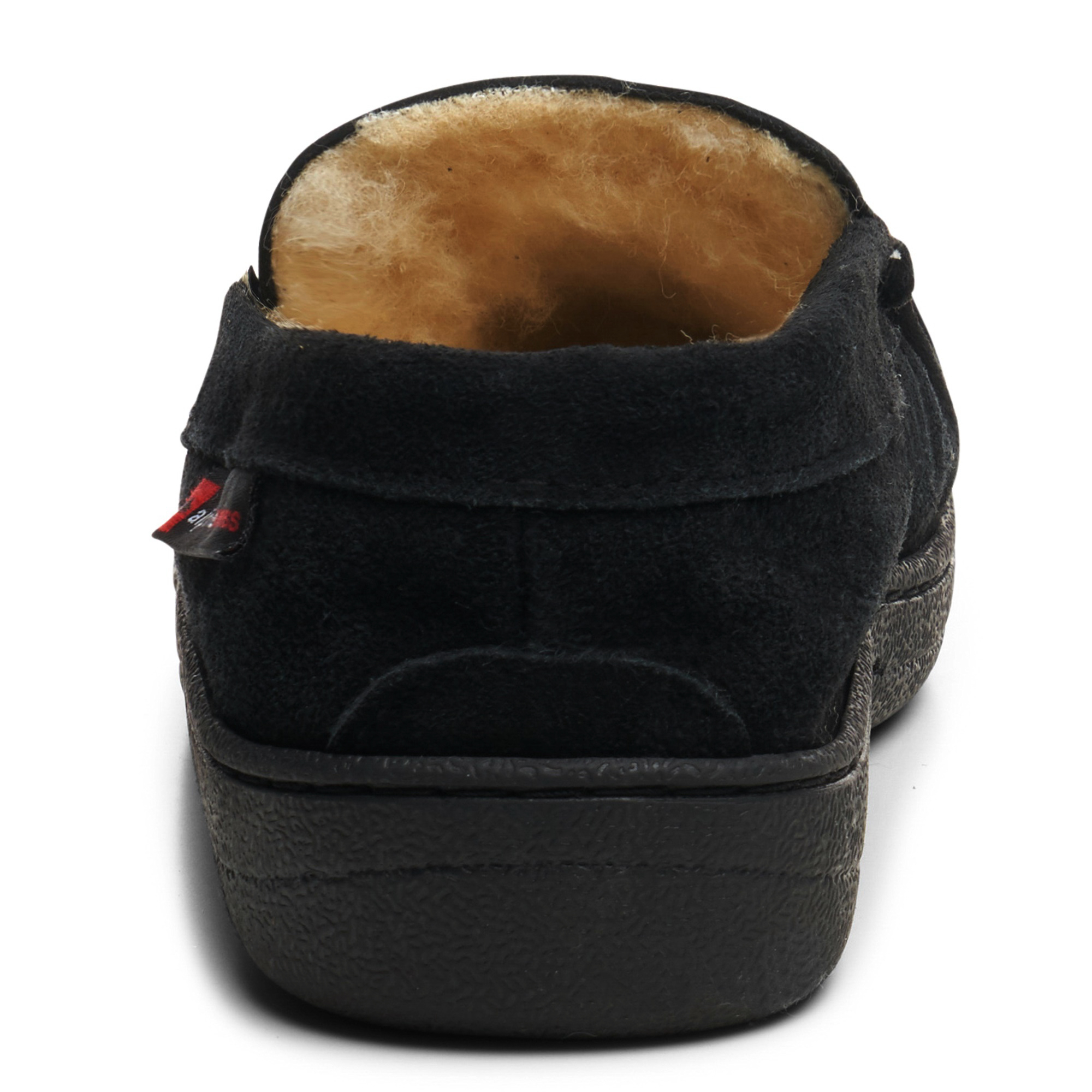 Alpine-Swiss-Yukon-Mens-Suede-Shearling-Moccasin-Slippers-Moc-Toe-Slip-On-Shoes thumbnail 16