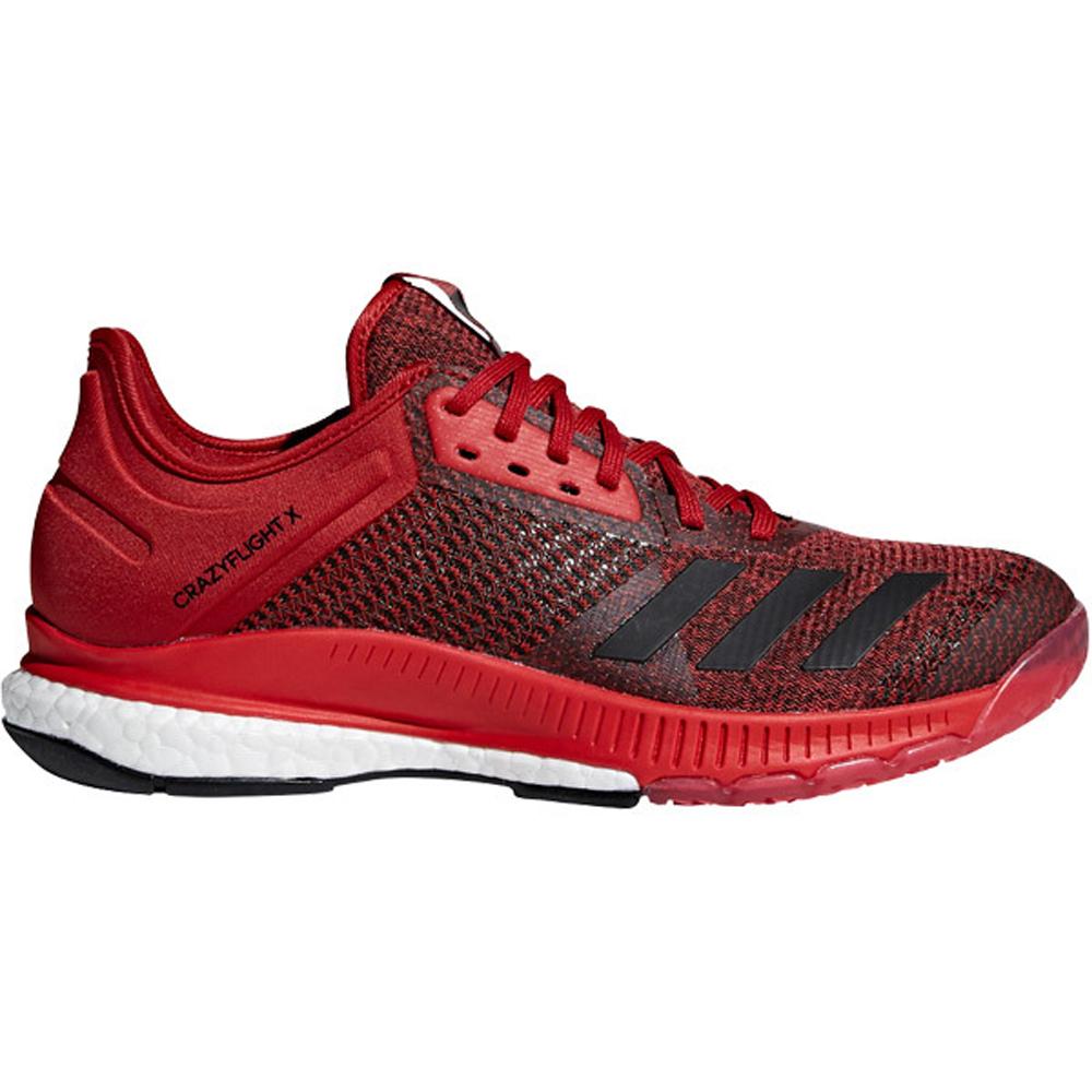 new style 00dca 4cdba Adidas Womens CrazyFlight X2 - Red - 9