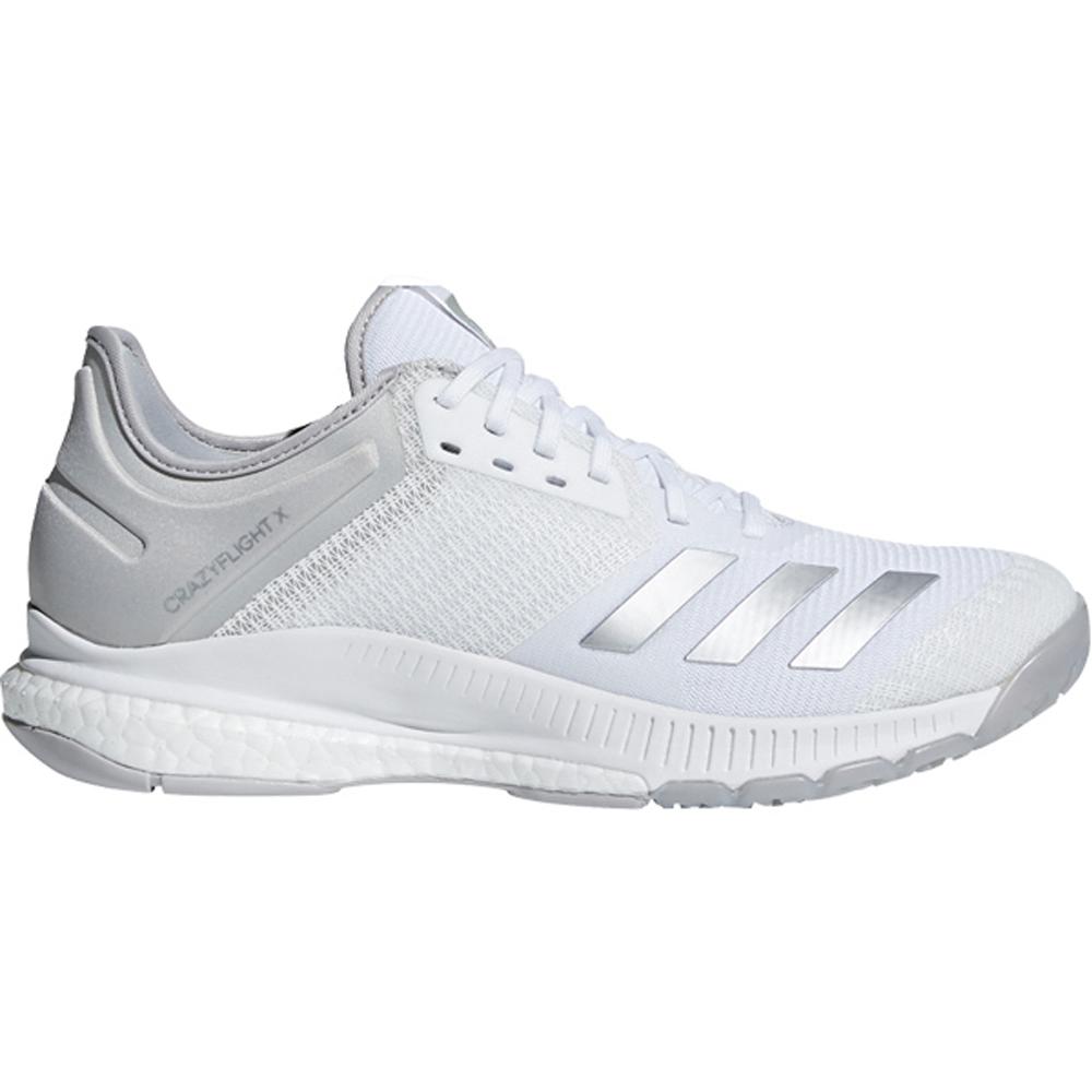 competitive price 94b02 627f6 Adidas Womens CrazyFlight X2 - White - 8