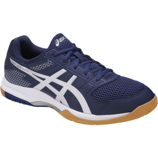 4bfe45c094a2 ASICS Men s Gel-Rocket 8 Mens Shoe - Navy White