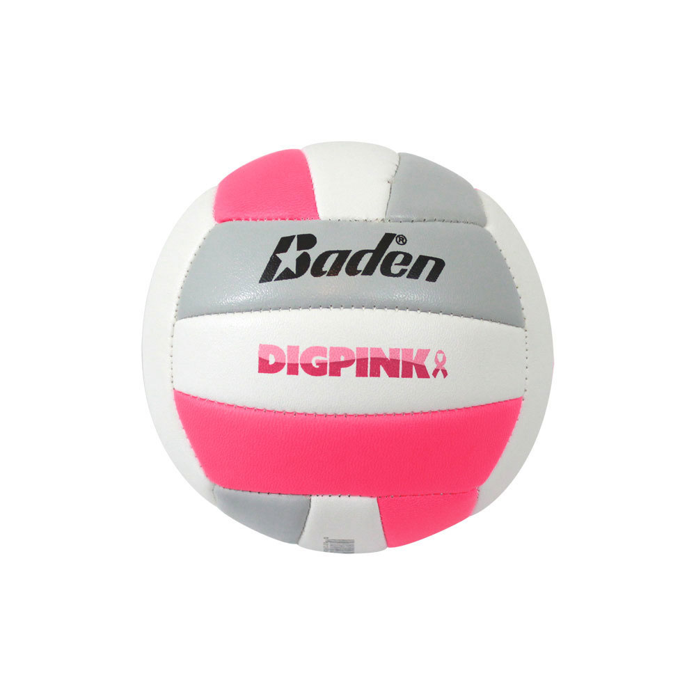 Official Size Baden Match Point Volleyball Neon Pink//White