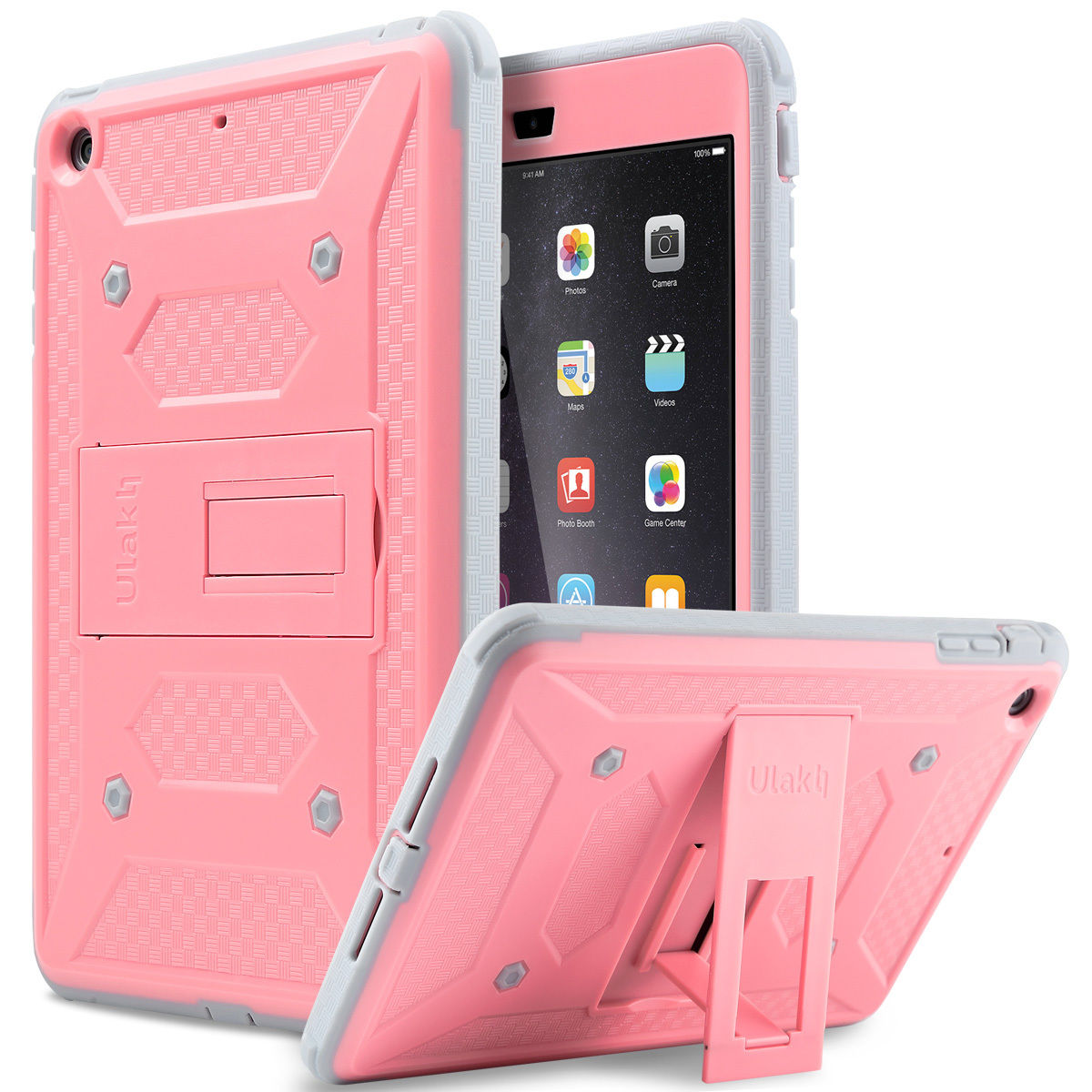 Heavy Duty Survivor Shockproof Military Stand Case Cover