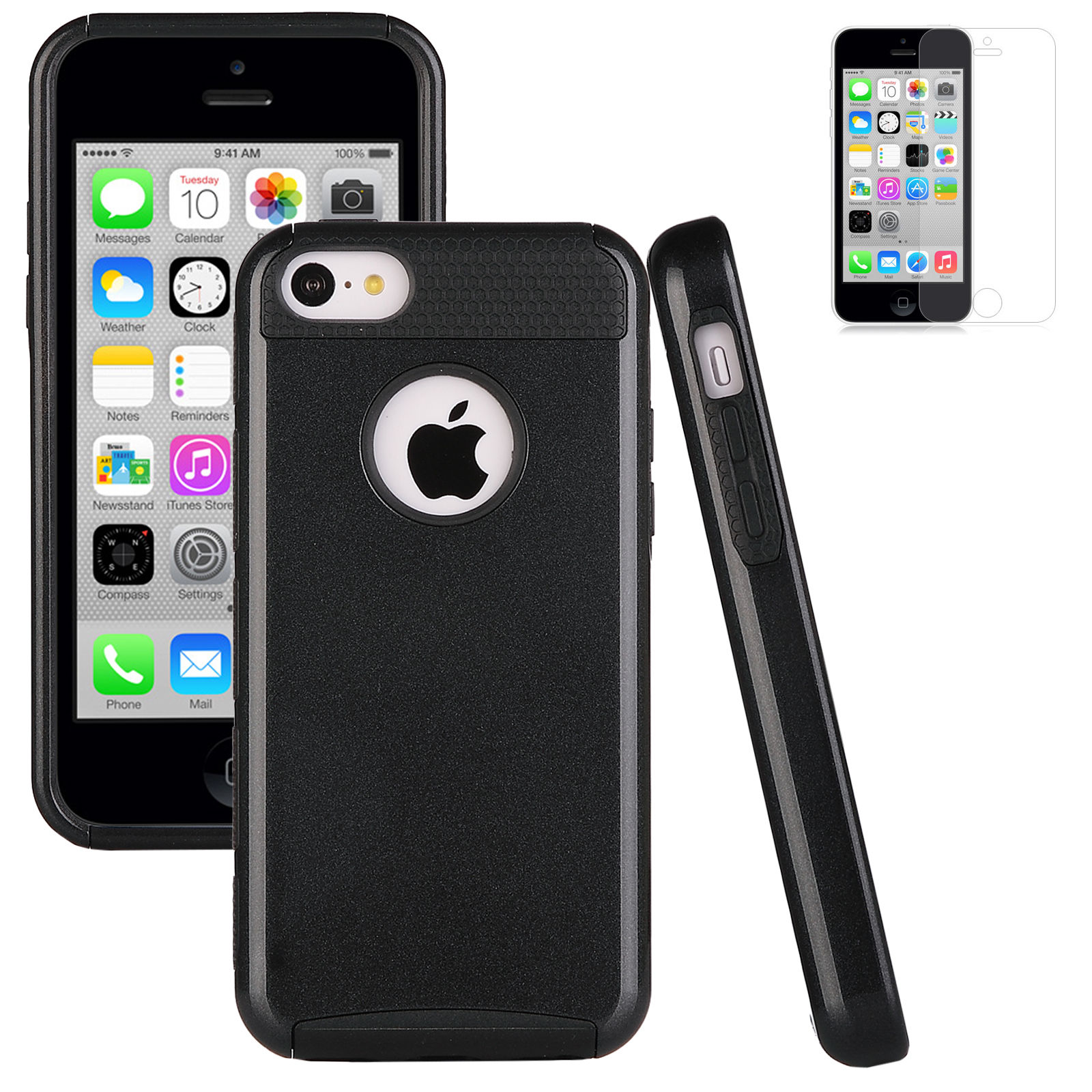 iphone 5c free heavy duty shock proof cover for iphone 5c free 4991