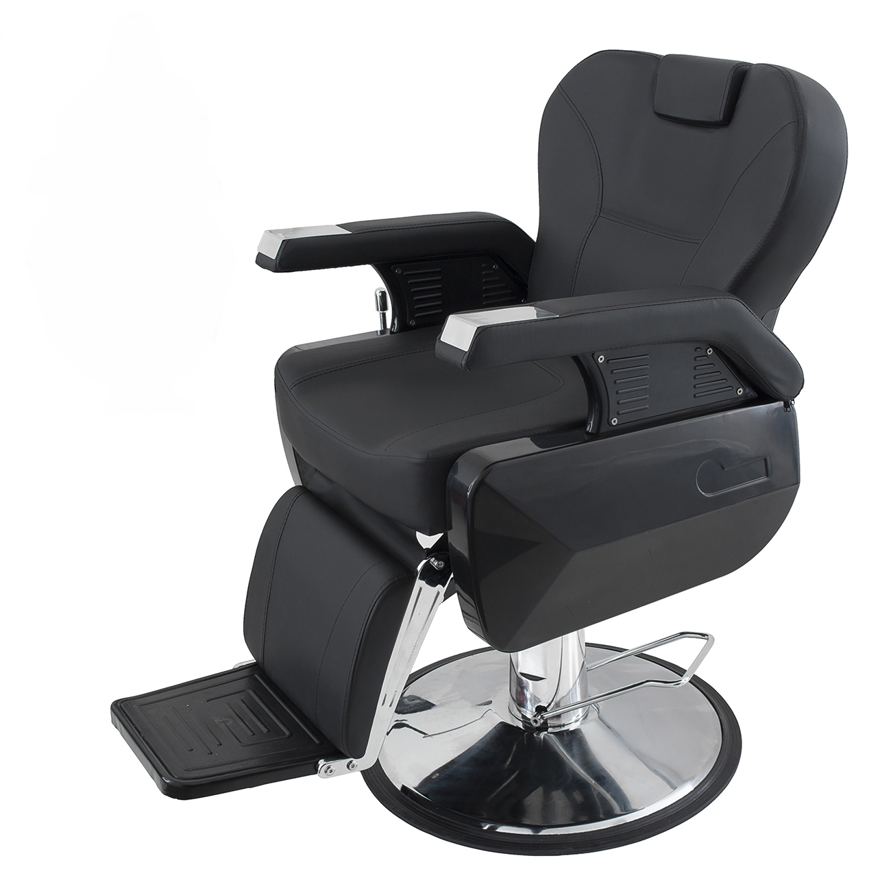Hair cutting hydraulic reclining barber chair spa salon for Hydraulic chairs beauty salon