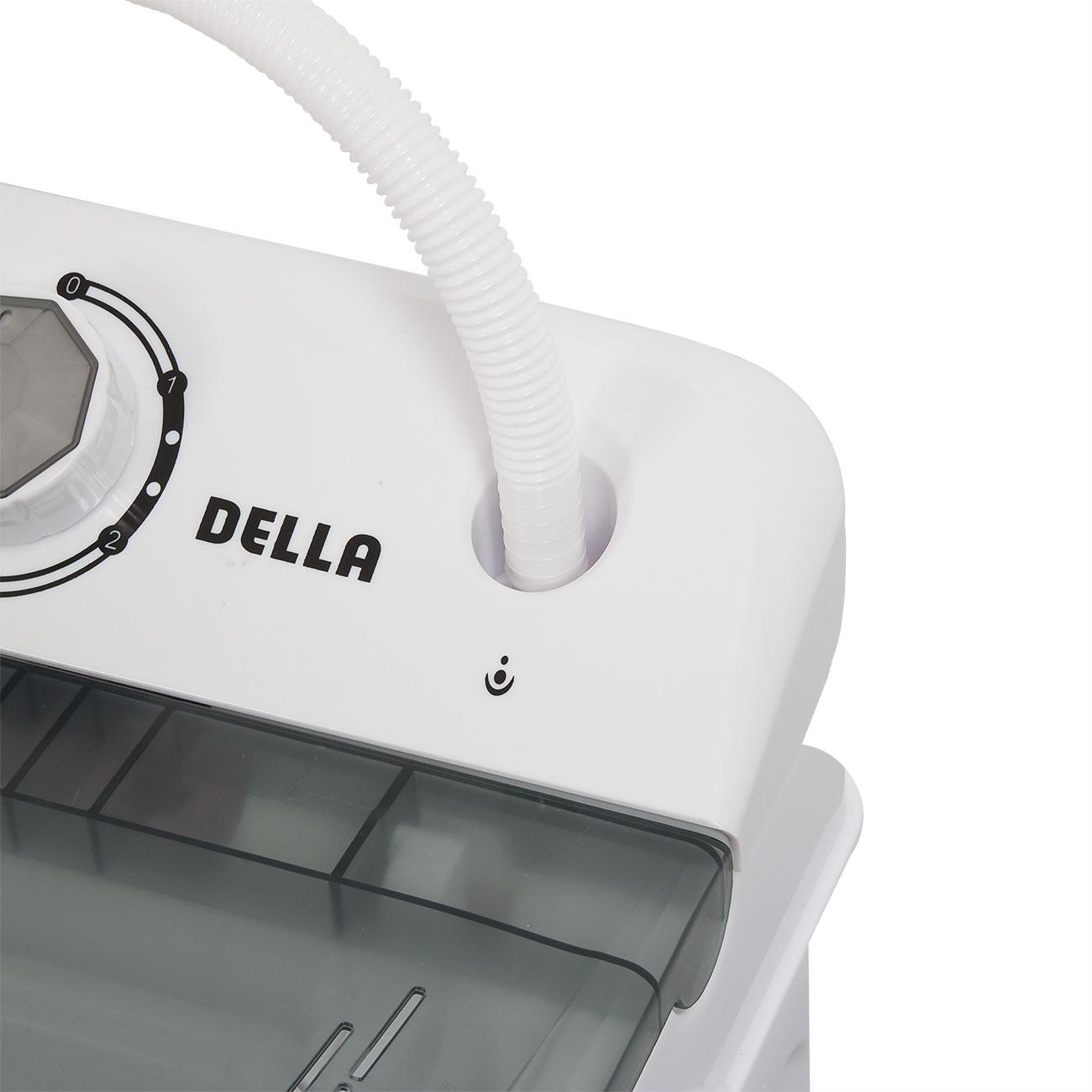 Portable Electric Washing Machine 5KG Dual Wash Spin U0026 Dryer Twin Tub Top  Load