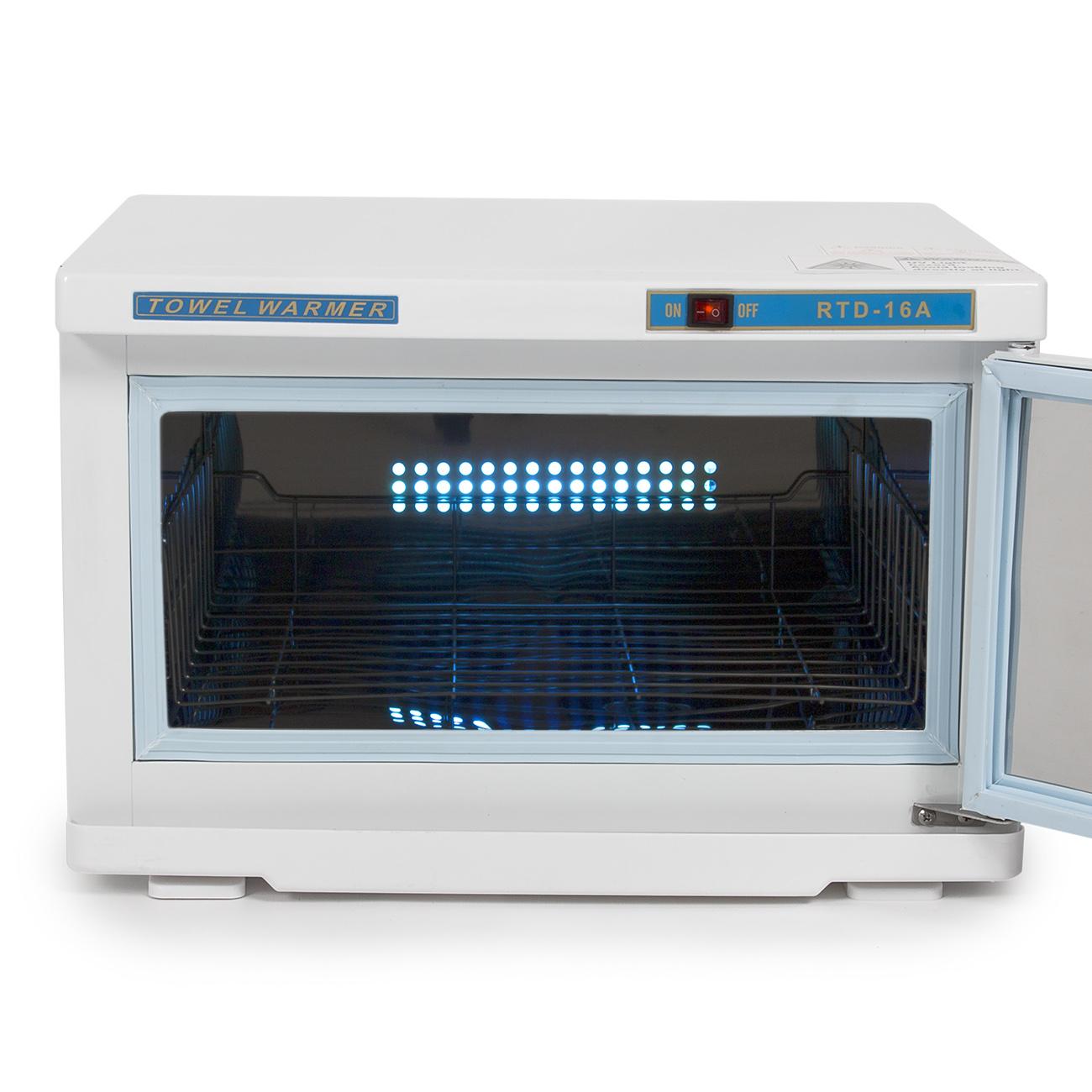 2 in 1 hot towel cabi warmer cabinet uv sterilizer spa for Salon uv