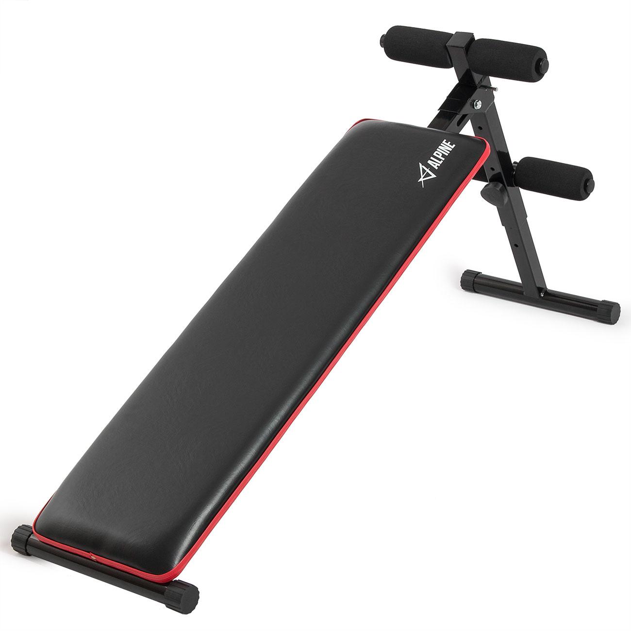 Adjustable Exercise Bench Sit Up Ab Crunch Board Decline