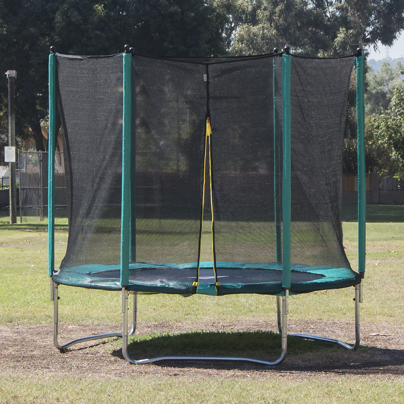 14 Ft Trampoline Combo Bounce Jump Safety W Spring Pad: New 12 FT Trampoline Combo Bounce Jump Safety Enclosure