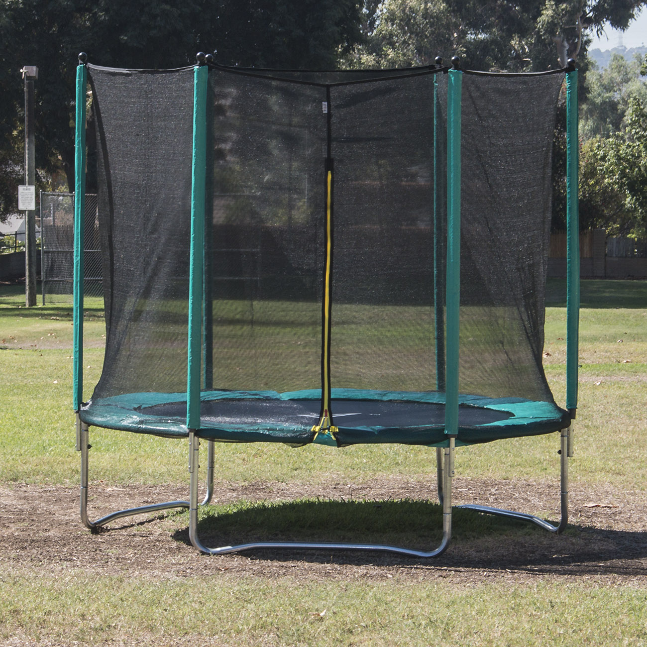 Kidwise Jumpfree 15 Ft Trampoline And Safety Enclosure: 15 FT Trampoline Combo Bounce Jump Safety Enclosure Net