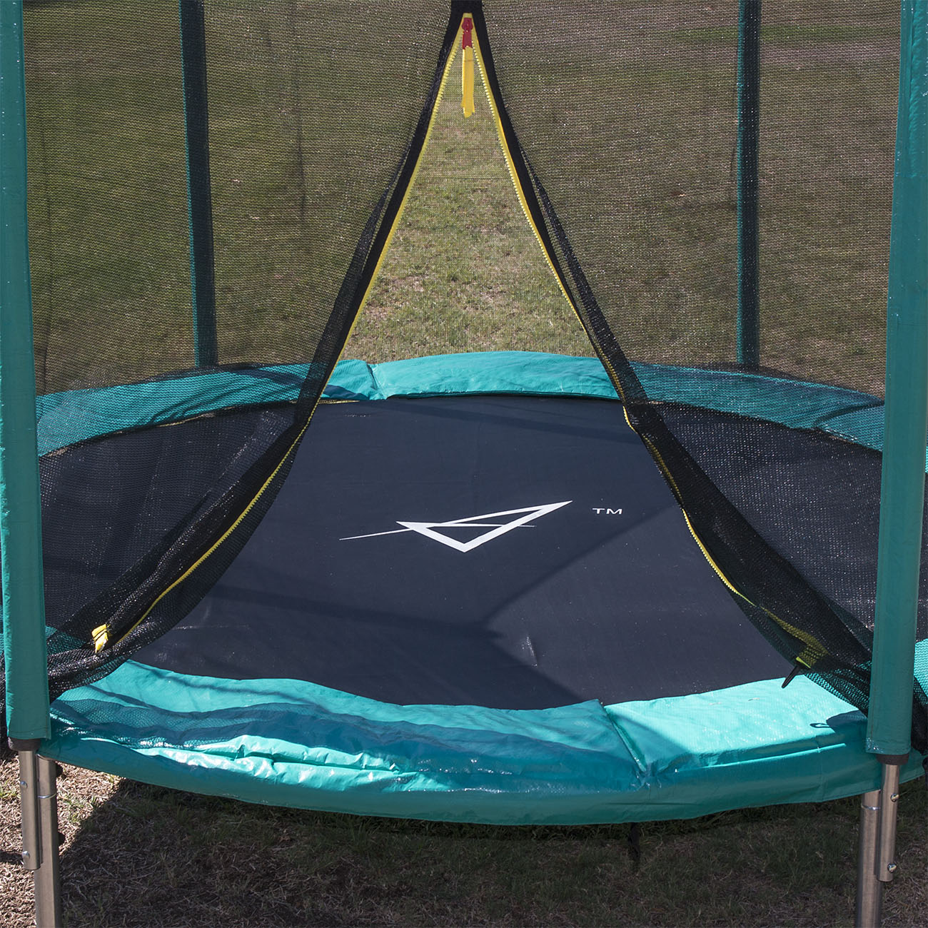 New 14ft Trampoline Combo Bounce Jump Safety Enclosure Net: 15 FT Trampoline Combo Bounce Jump Safety Enclosure Net