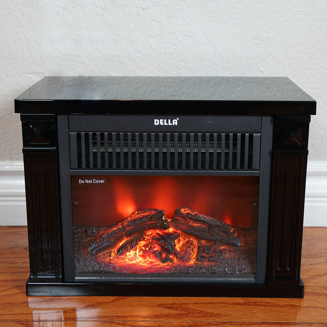 tabletop infrared space heater flame effect portable mini electric fireplace new 89301708006 ebay. Black Bedroom Furniture Sets. Home Design Ideas