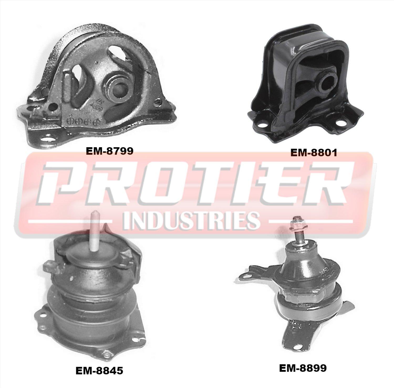Set 3PCS Engine /& Trans Motor Mount For 1998-2002 Honda Accord 2.3L Auto M200