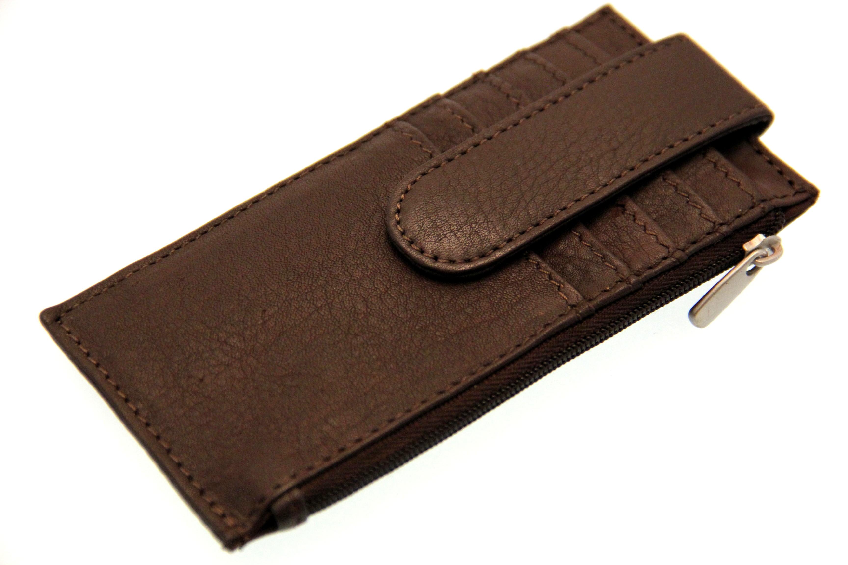 Credit Card Holder Case Men Women Security Snap ID Slot ...