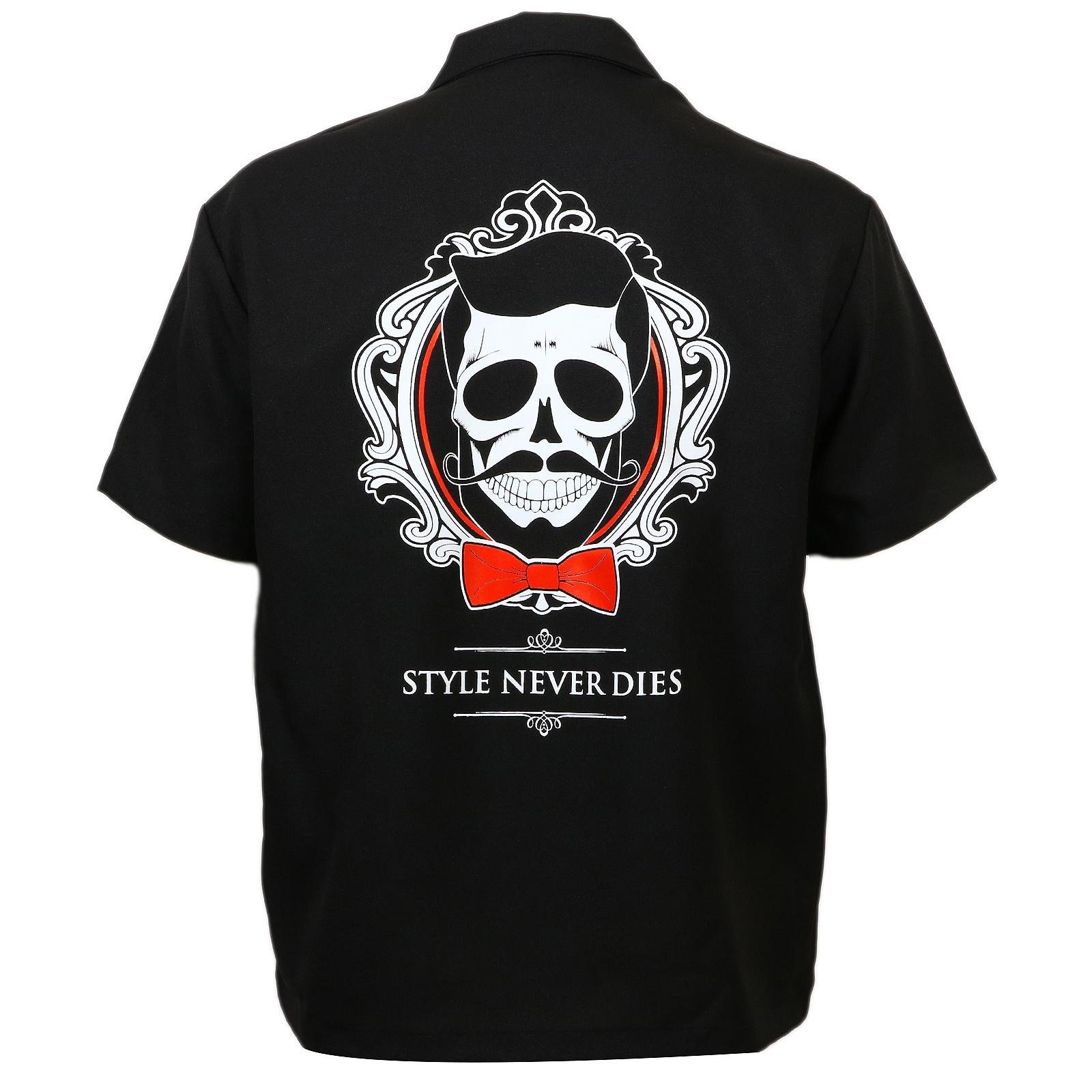 Authentic DON JUAN POMADE Jumbo Style Never Dies Logo T-Shirt Black S-2XL NEW
