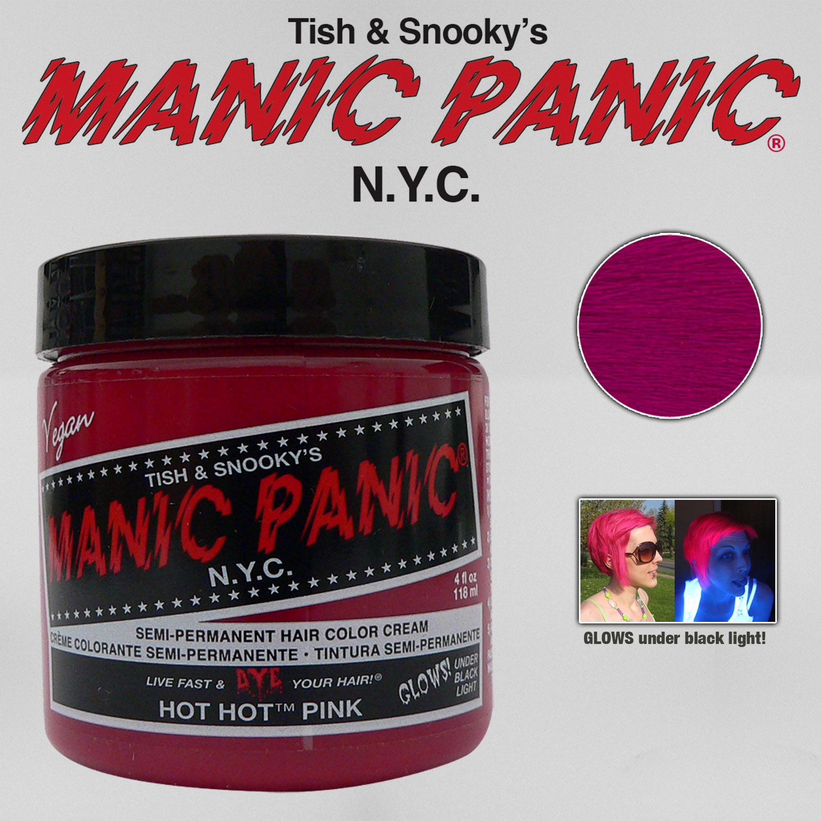Manic Panic Classic Semi Permanent Vegan Hair Dye Color All Colors 4