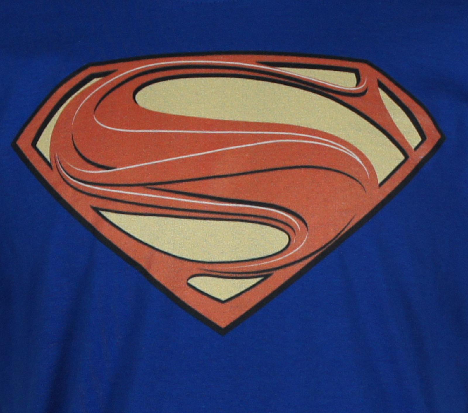 SUPERMAN Man Of Steel Movie Glyph Zod Costume Shield Logo All T-Shirt S-3XL NEW