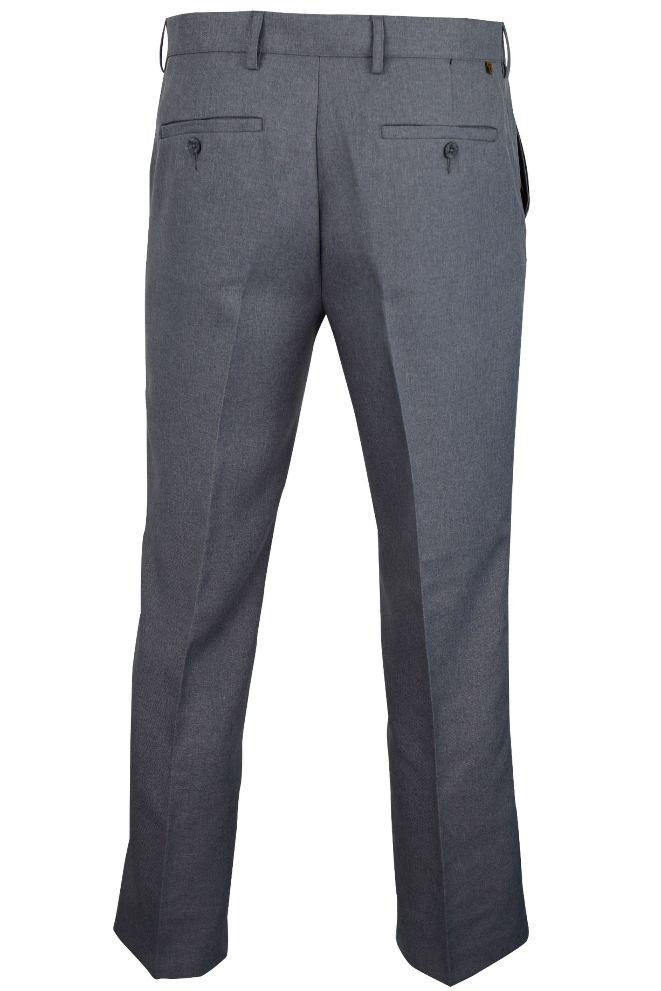 Herren-Hosen-von-Farah-glatte-Vorderseite-Einfach-Stretch-Twill-mit-Anti-Fleck