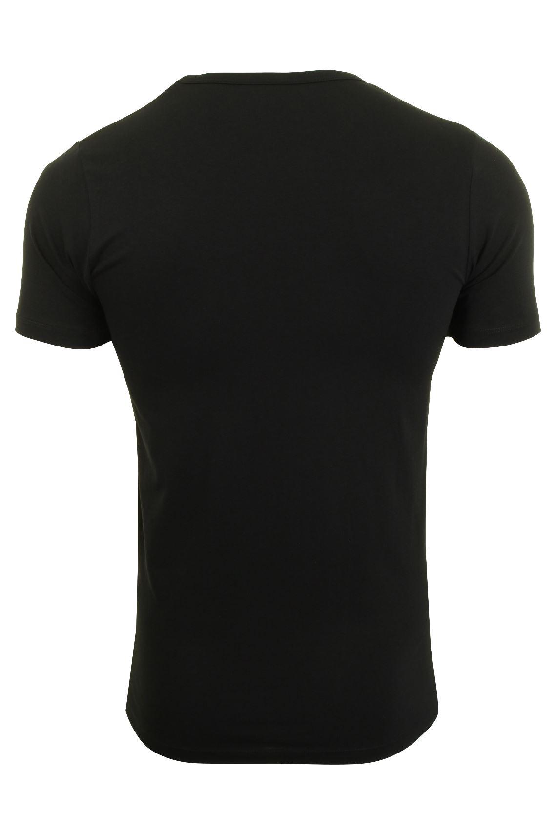 Jack-amp-Jones-De-Hombre-S-S-Cuello-Redondo-Camiseta-Slim-Fit miniatura 4