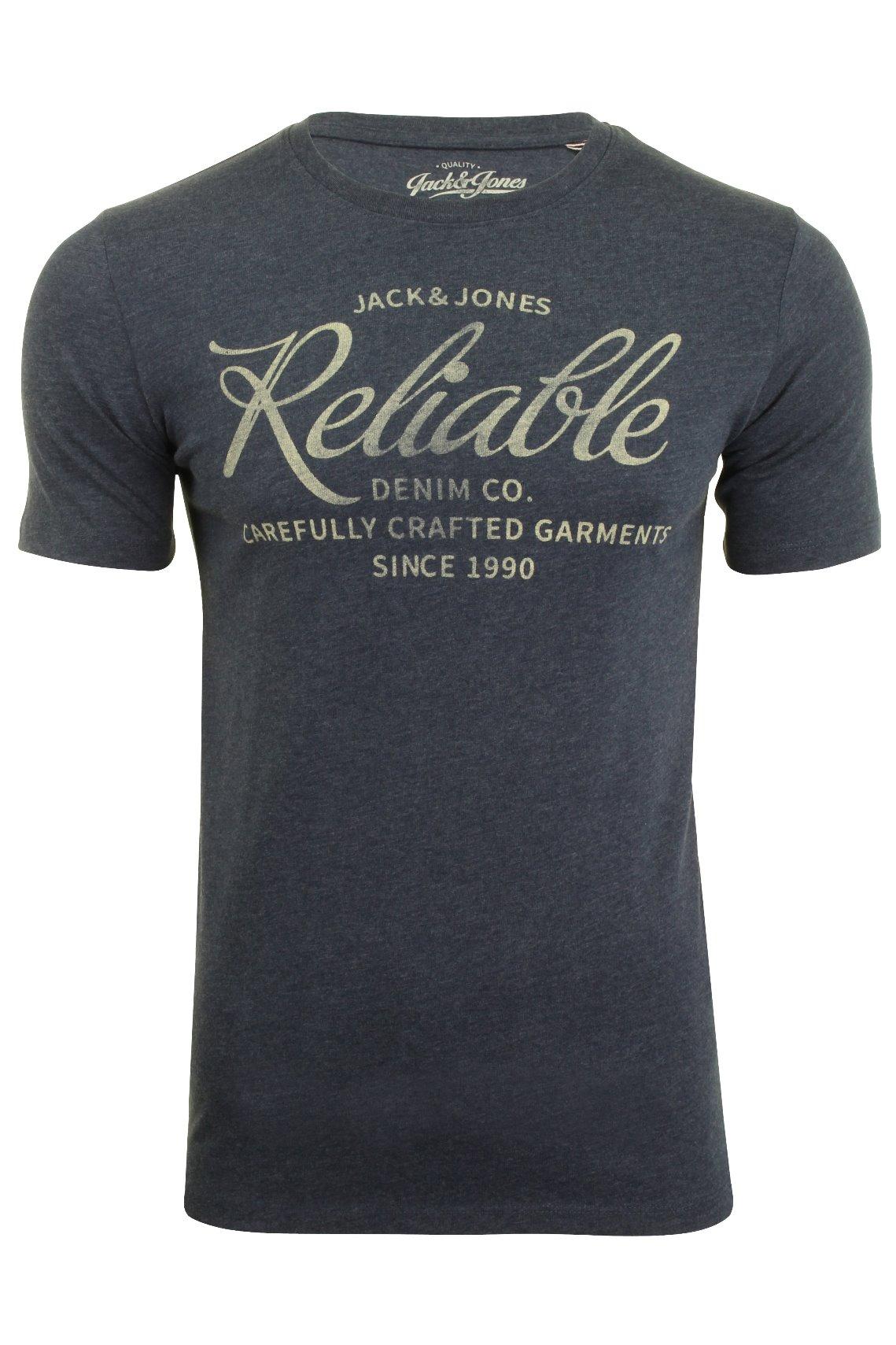 Jack-amp-Jones-Mens-Short-Sleeved-T-Shirt-039-JJEJEANS-039